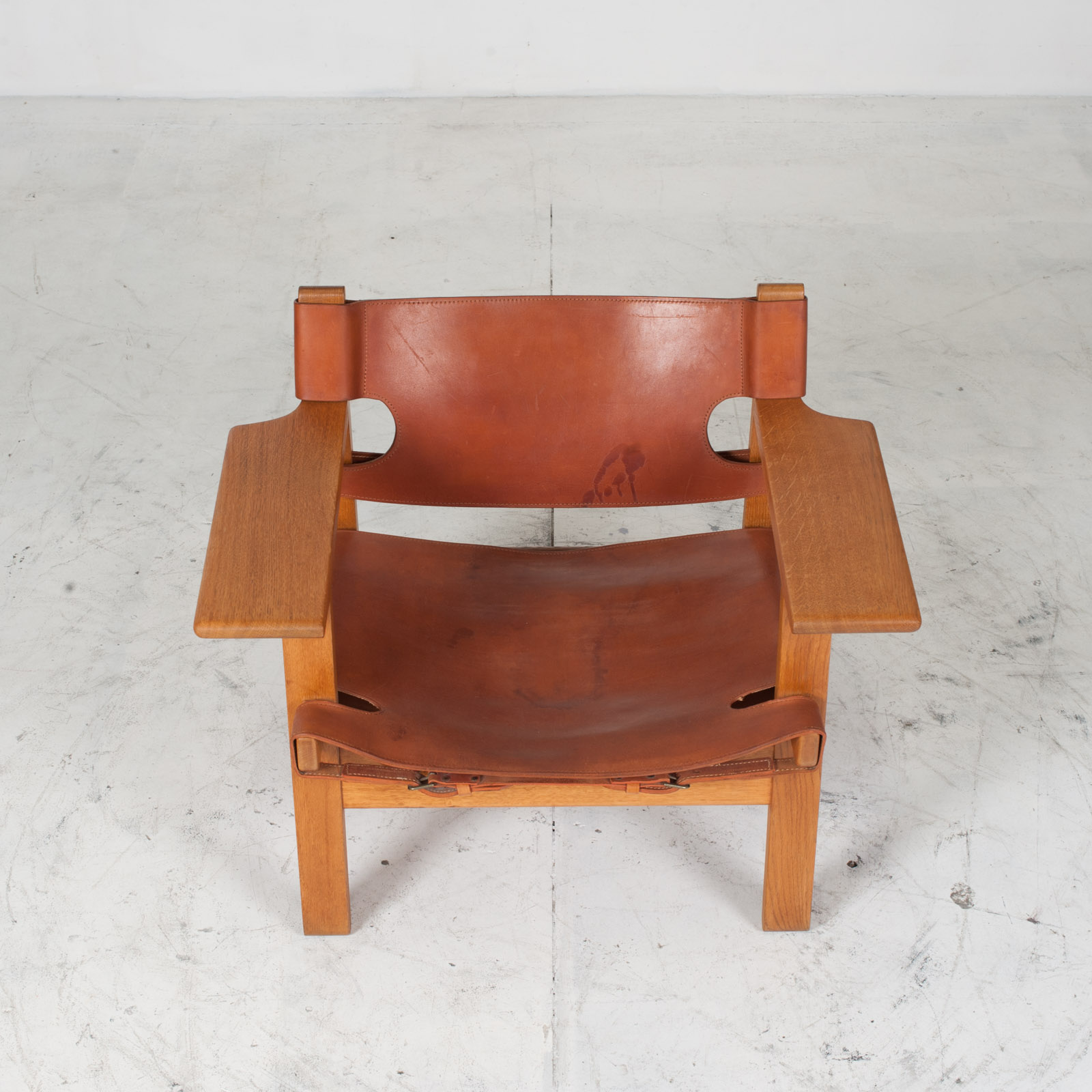 Model 2226 Armchair By Borge Mogensen For Fredericia In Tan Leather 1950s Denmark 003