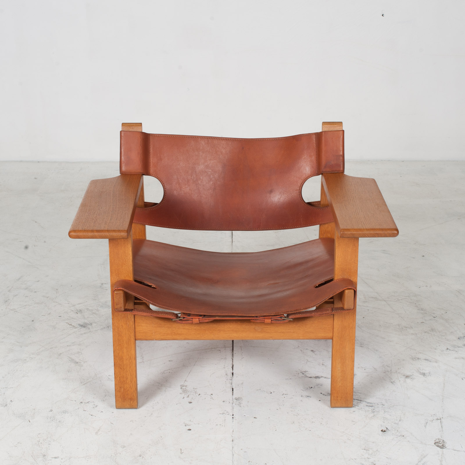 Model 2226 Armchair By Borge Mogensen For Fredericia In Tan Leather 1950s Denmark 02