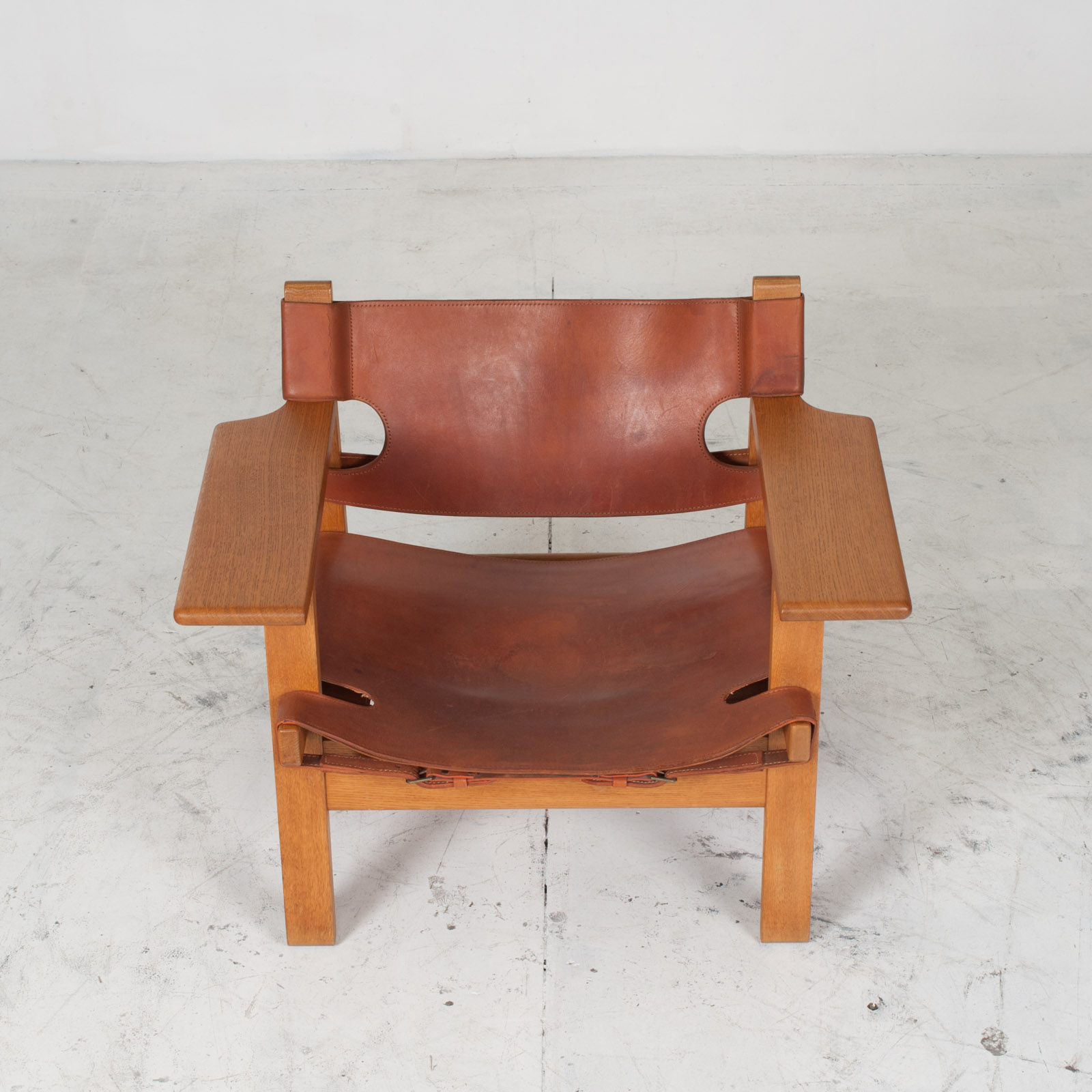 Model 2226 Armchair By Borge Mogensen For Fredericia In Tan Leather 1950s Denmark 03