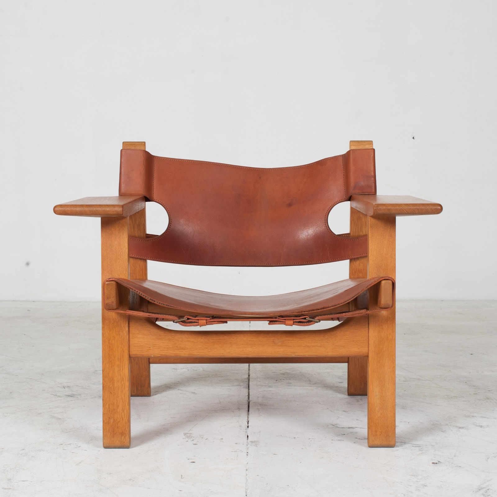 Model 2226 Armchair By Borge Mogensen For Fredericia In Tan Leather 1950s Denmark 07