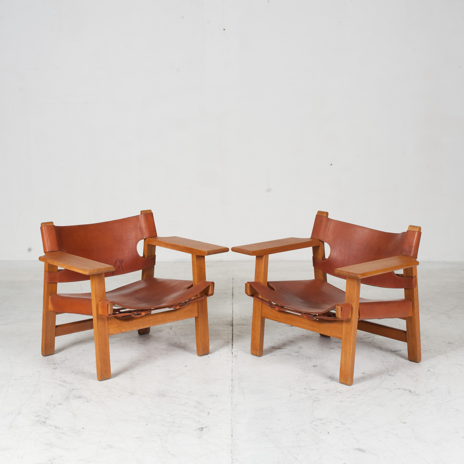 Model 2226 Armchair By Borge Mogensen For Fredericia In Tan Leather 1950s Denmark 11
