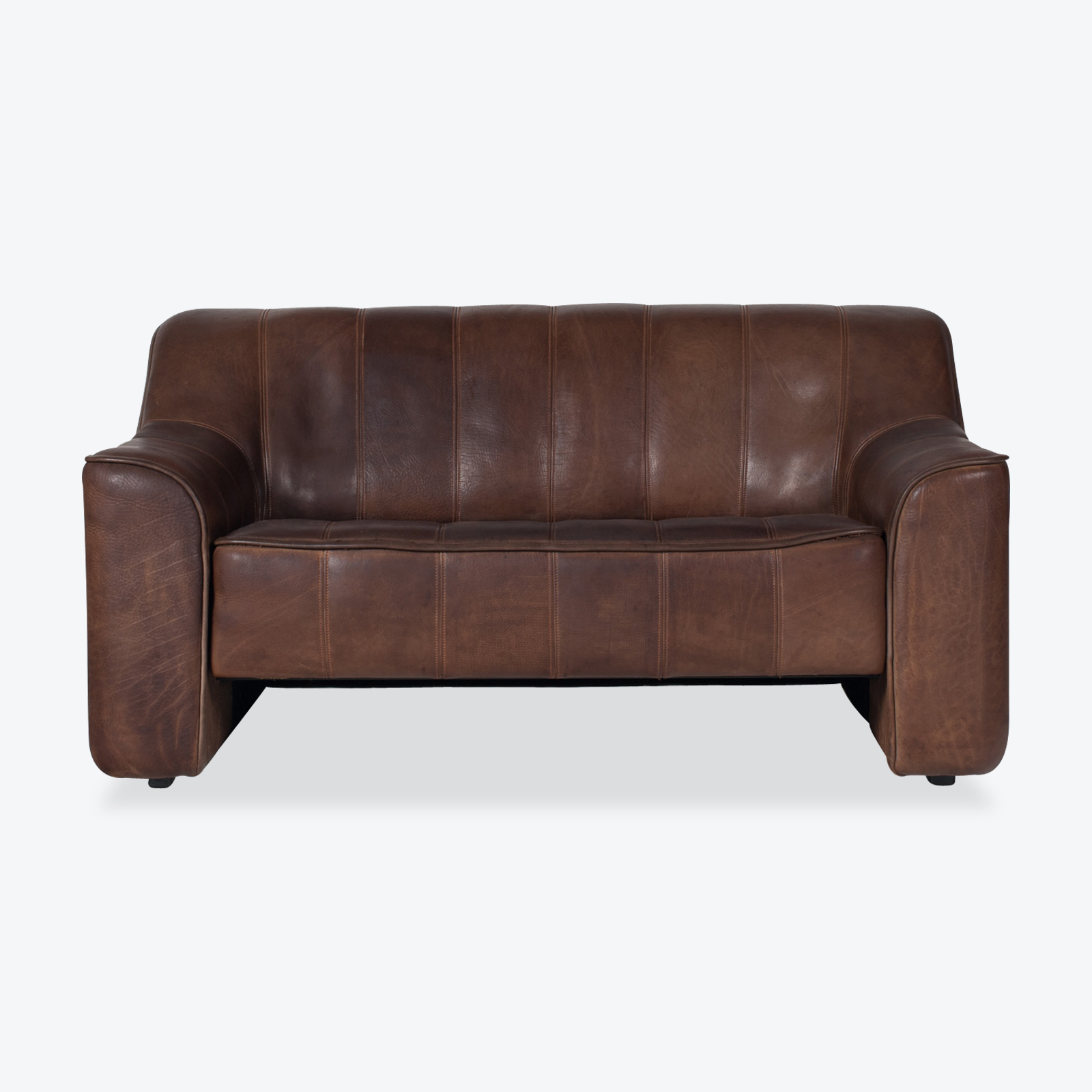 Model Ds 44 2 Seat Sofa In Buffalo Leather 1960s Switzerland 01