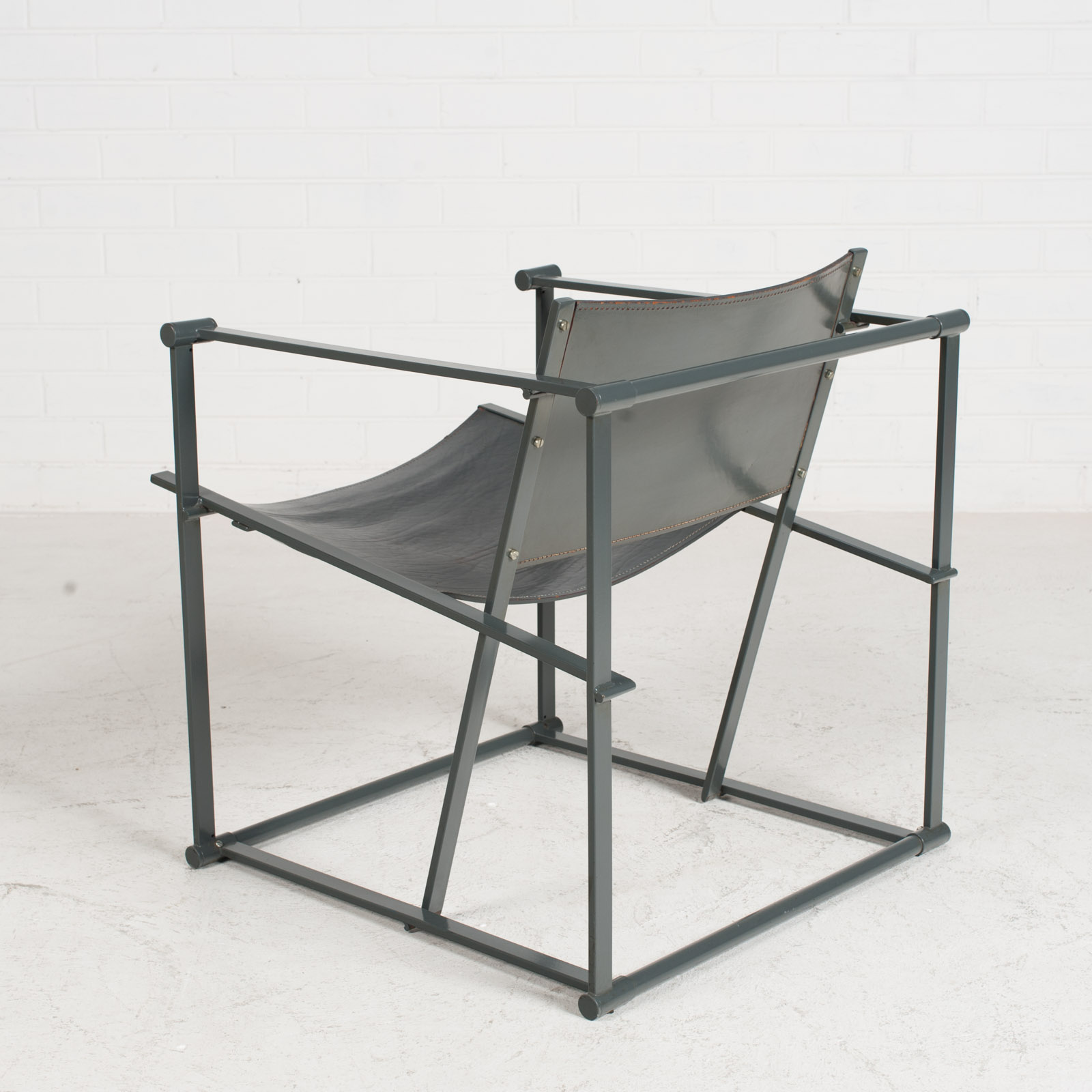 Model Fm60 Cubic Chair By Radboud Van Beekum For Pastoe 1980s Netherlands 5