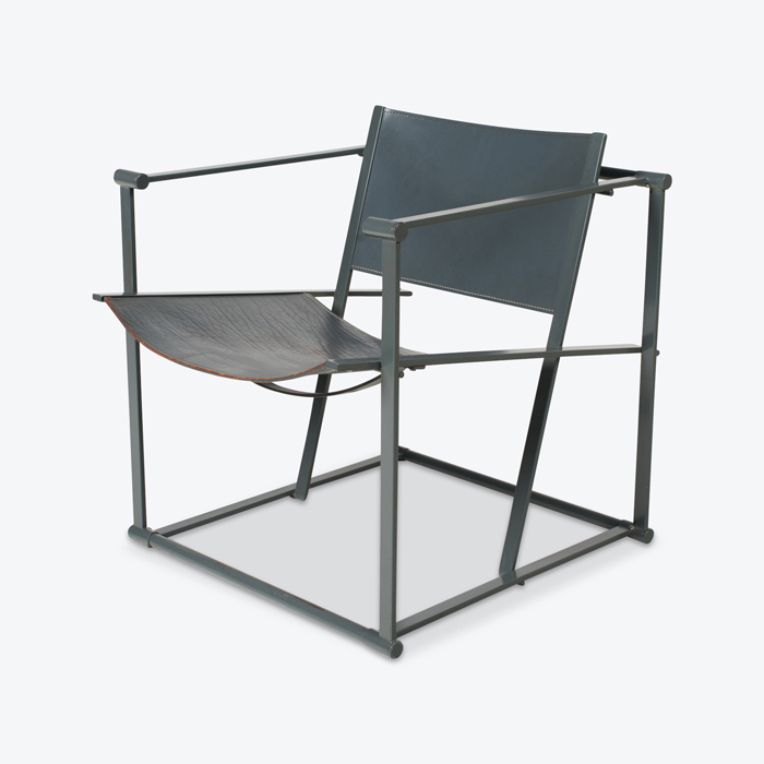 Model Fm60 Cubic Chair By Radboud Van Beekum For Pastoe 1980s Netherlands Thumb