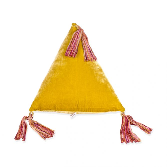 Pyramid Cushion In Gold By Elise Cakebread Thumb.jpg