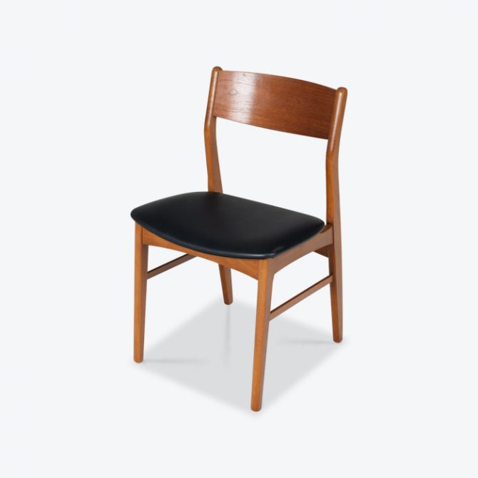 Set 6 Dining Chairs In The Style Of Erik Buch In Teak 1960s Denmark Thumb.jpg