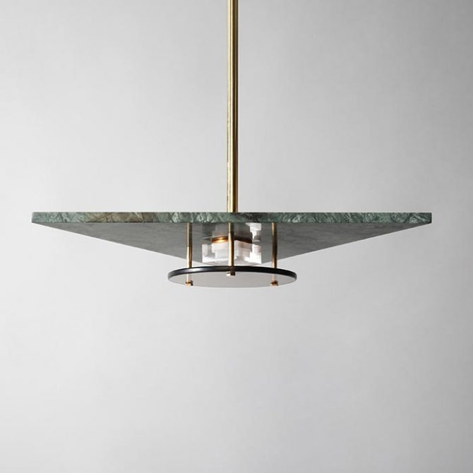 Bermuda Moss Pendant Light Thumb