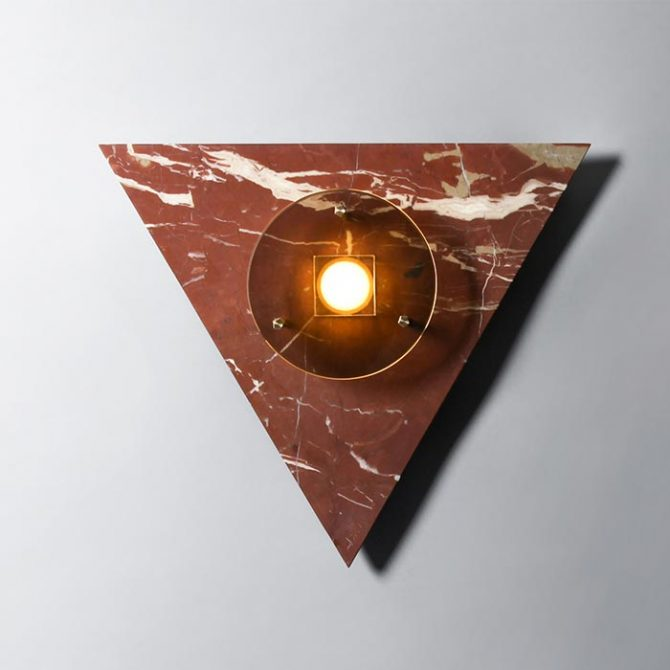 Bermuda Wall Light In Ochre Marble And Brass By Marz Designs Thumb.jpg