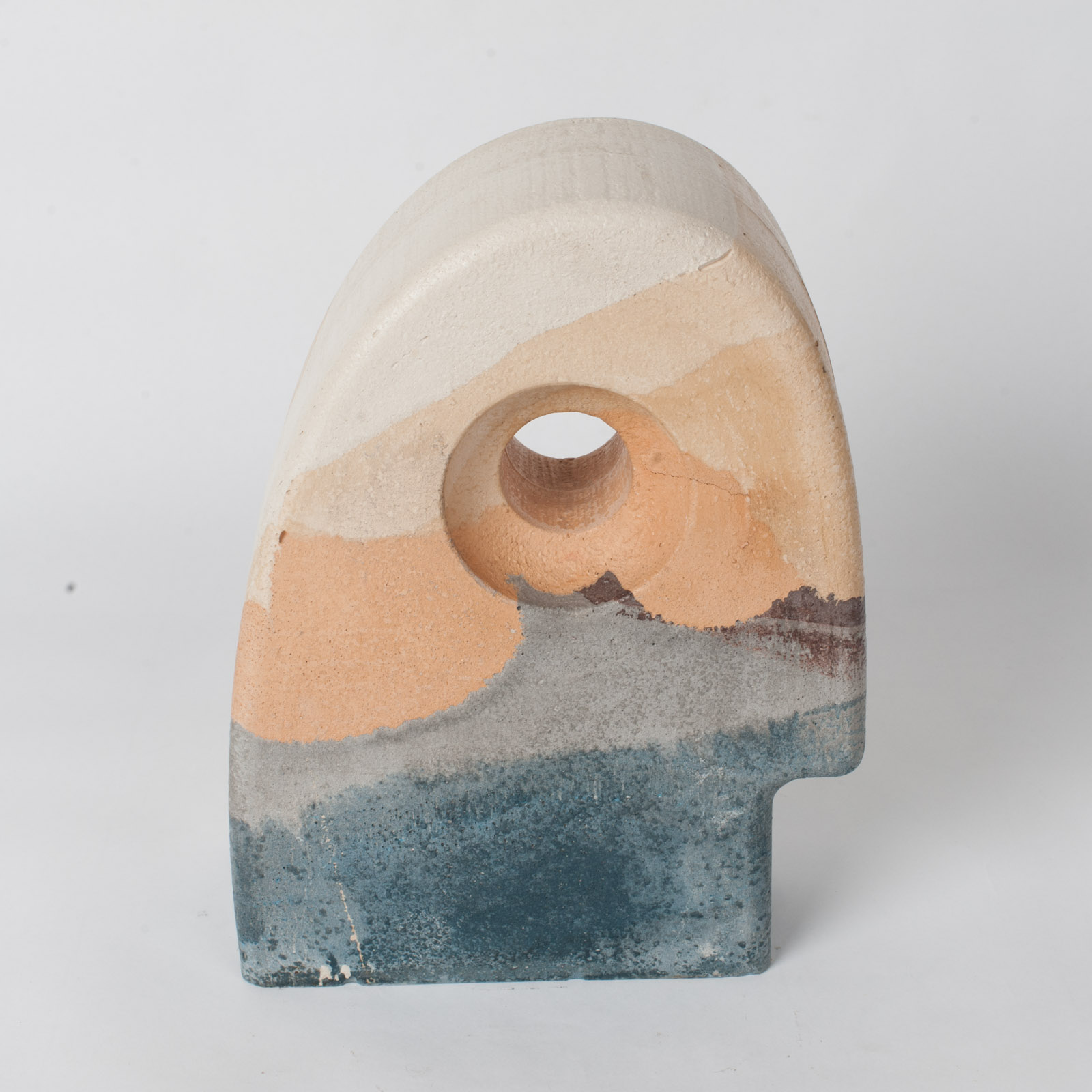 Budgie Sculpture In Apricot Concrete By Maddie Sharrock 10