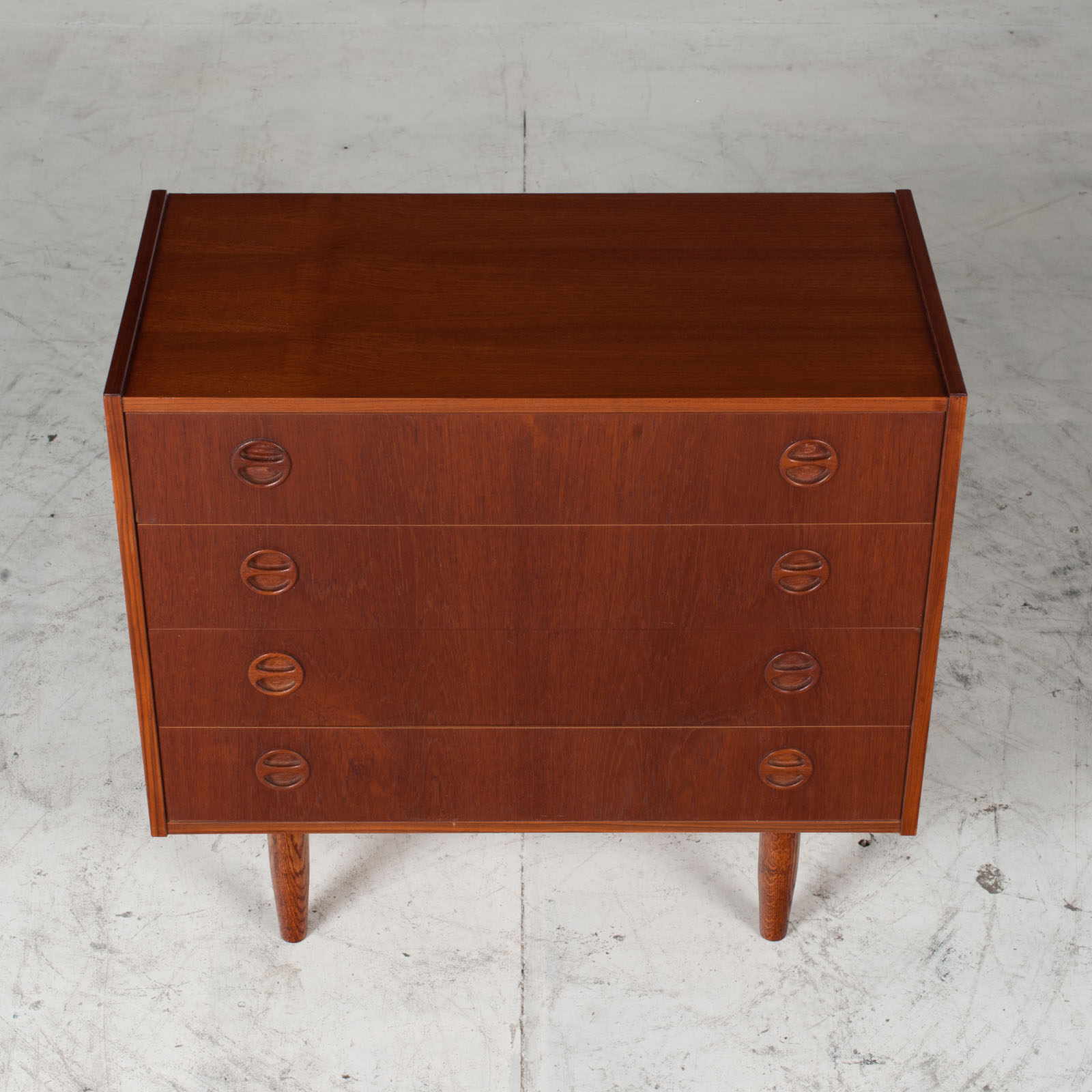 Chest Of Drawers In Teak, 1960s, Denmark 3
