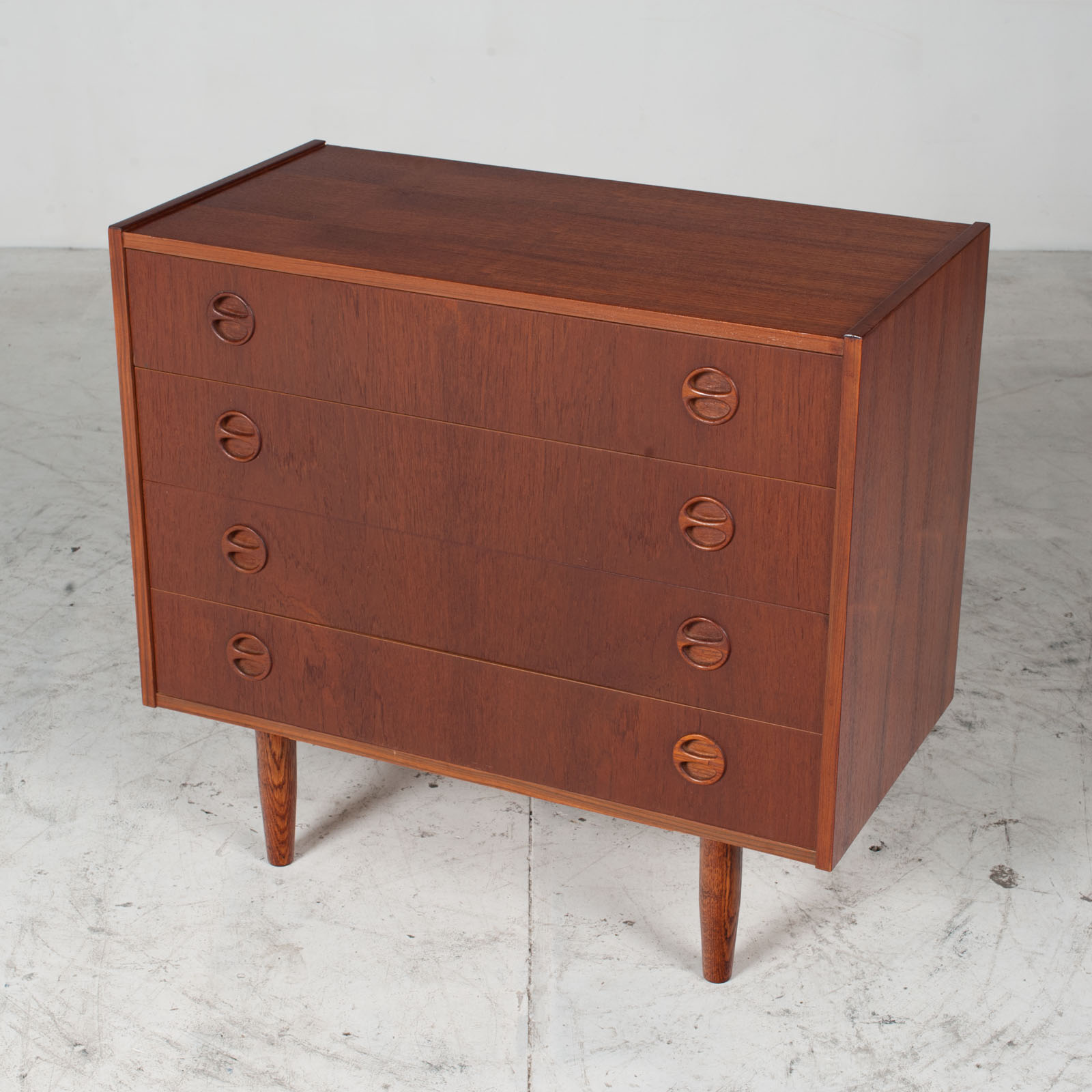 Chest Of Drawers In Teak, 1960s, Denmark 4