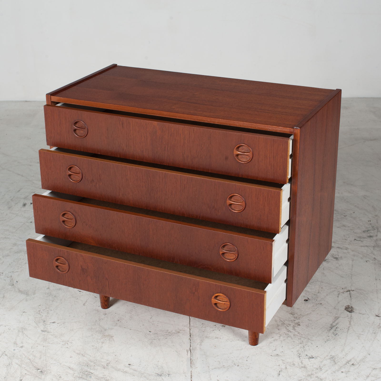 Chest Of Drawers In Teak, 1960s, Denmark 5
