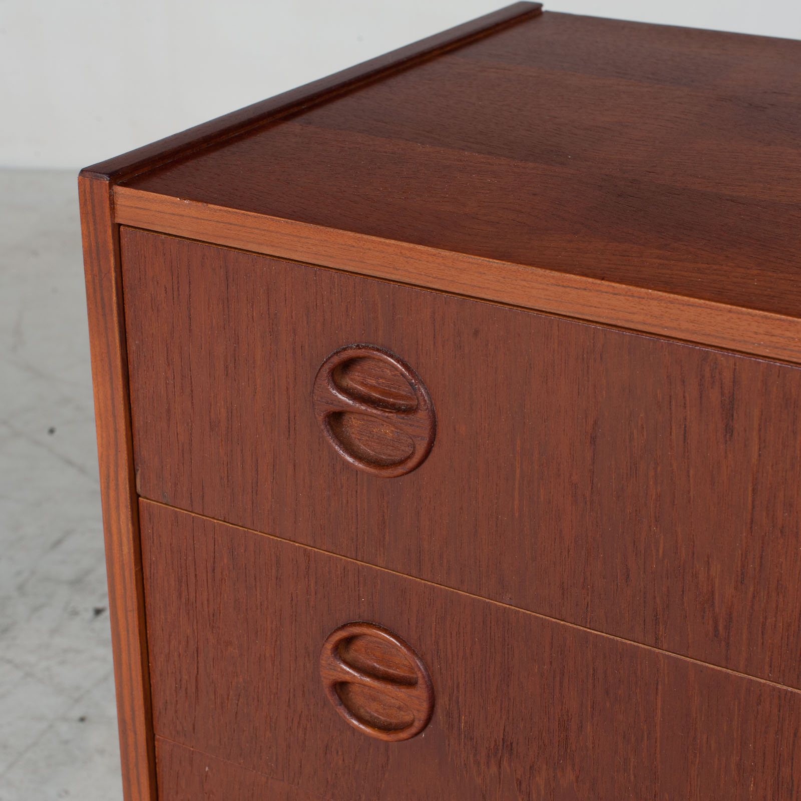 Chest Of Drawers In Teak, 1960s, Denmark 6