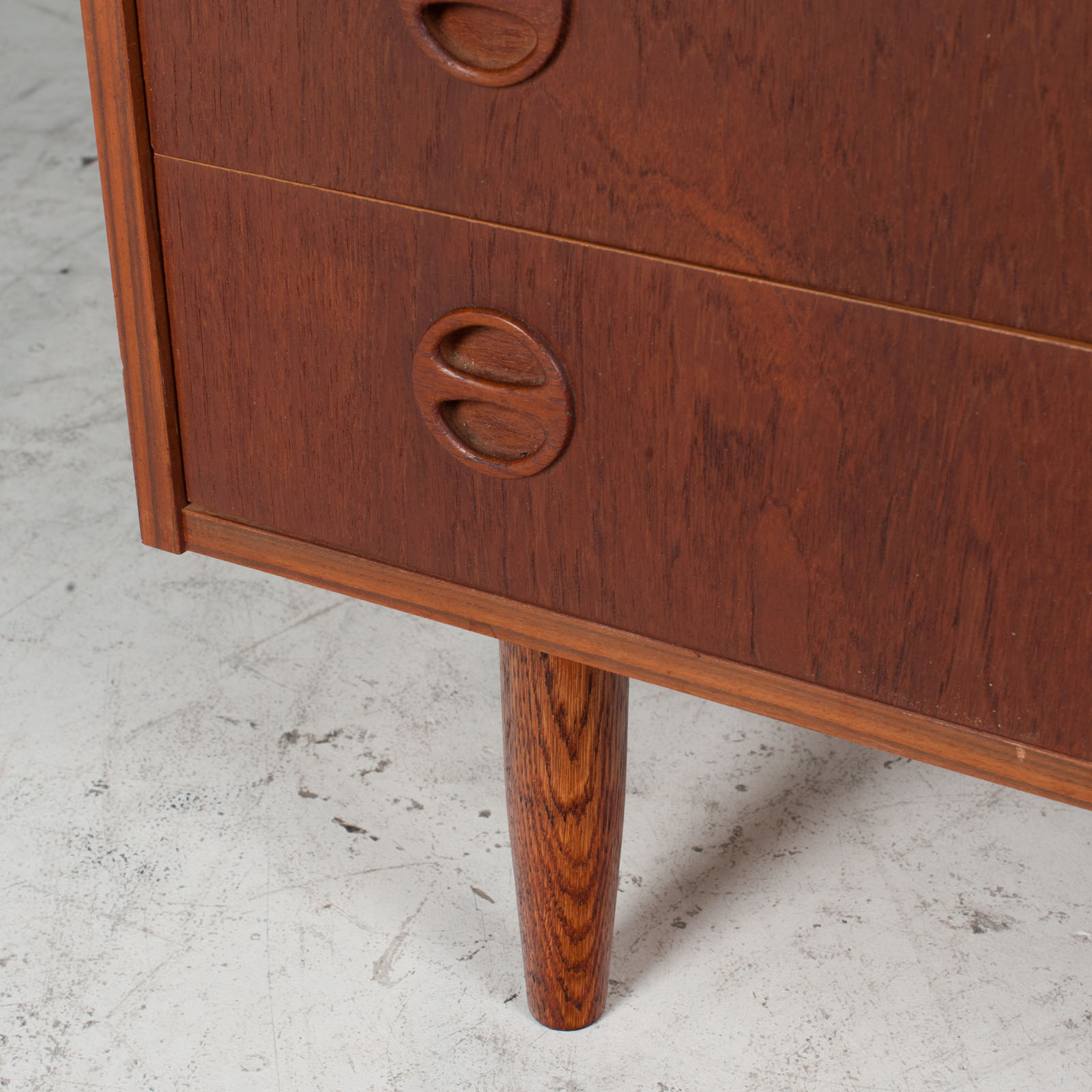 Chest Of Drawers In Teak, 1960s, Denmark 7