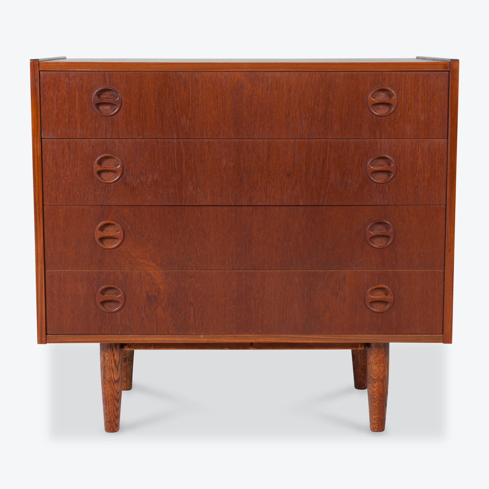 Chest Of Drawers In Teak, 1960s, Denmark Hero
