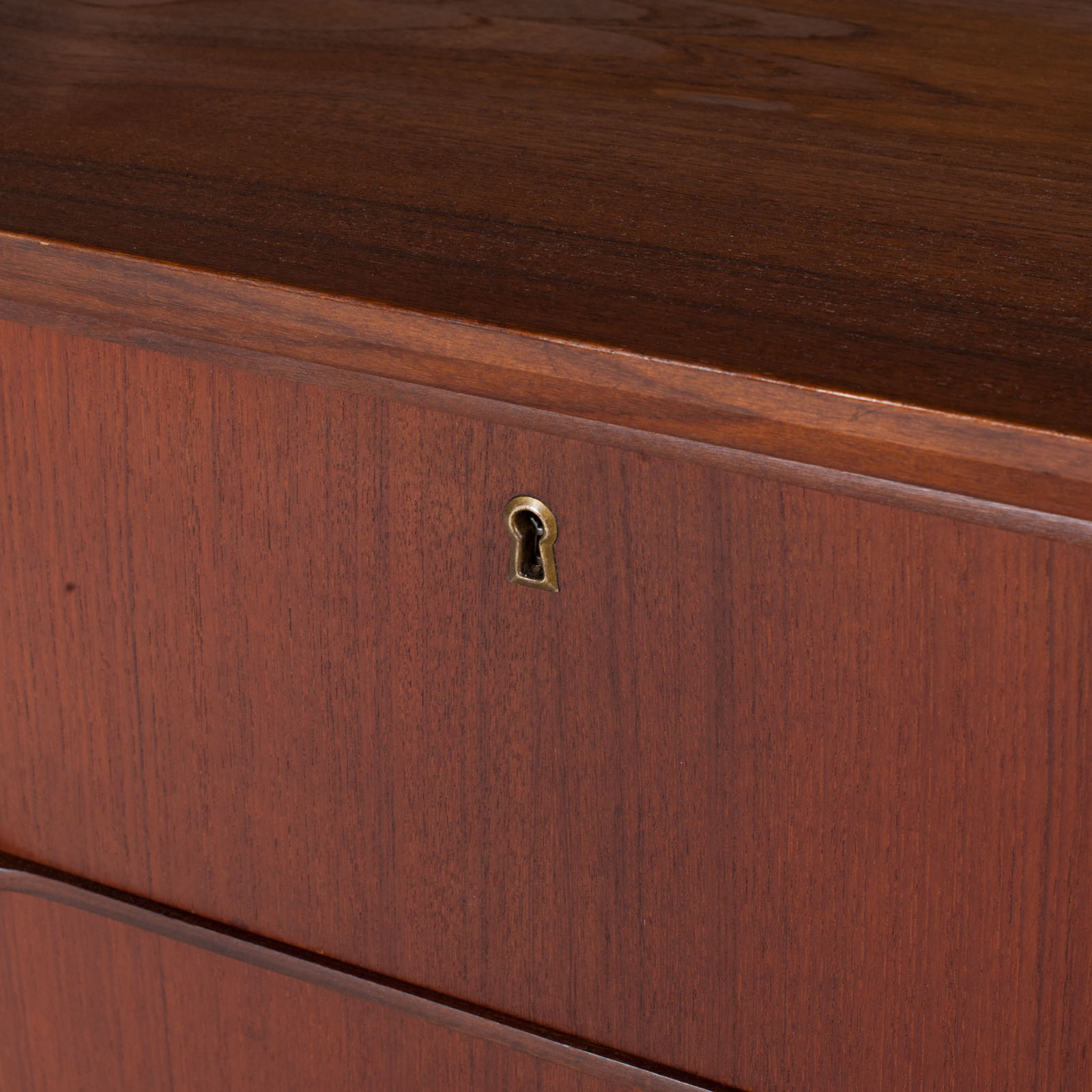 Chest With Four Drawers In Teak, 1960s, Denmark 7