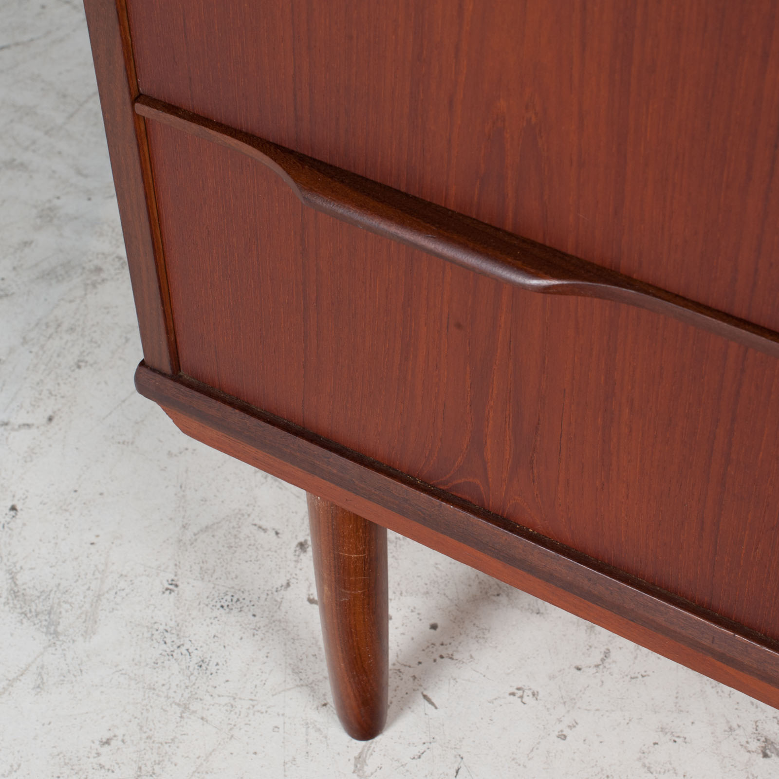 Chest With Four Drawers In Teak, 1960s, Denmark 8