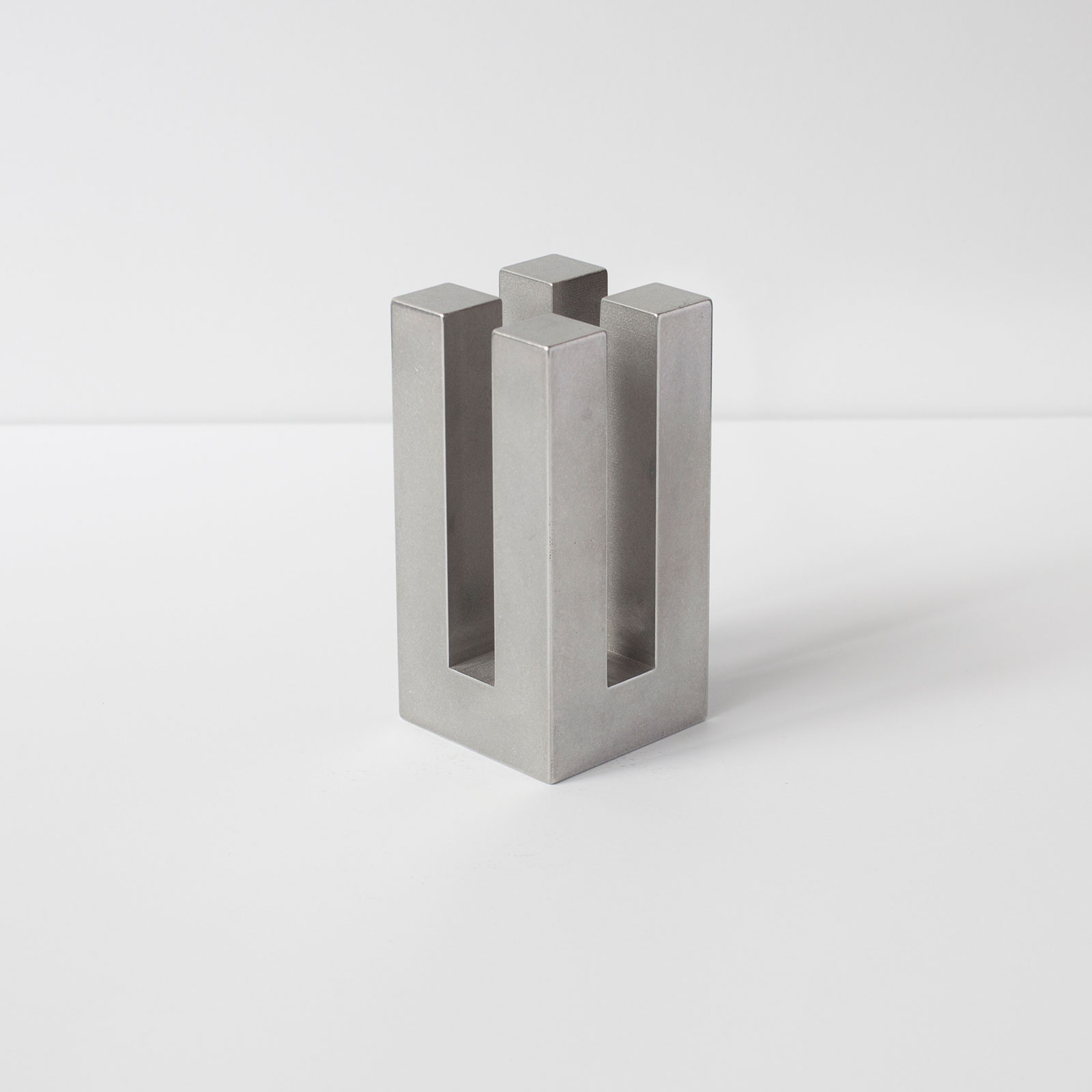 Jeff Tall Candle Holder Aluminium By Studio Acs Hero 1