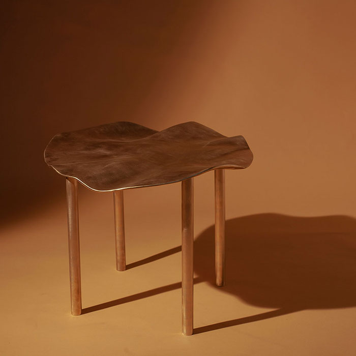 Asperitus Table In Bronze By Studio Ac S Thumb