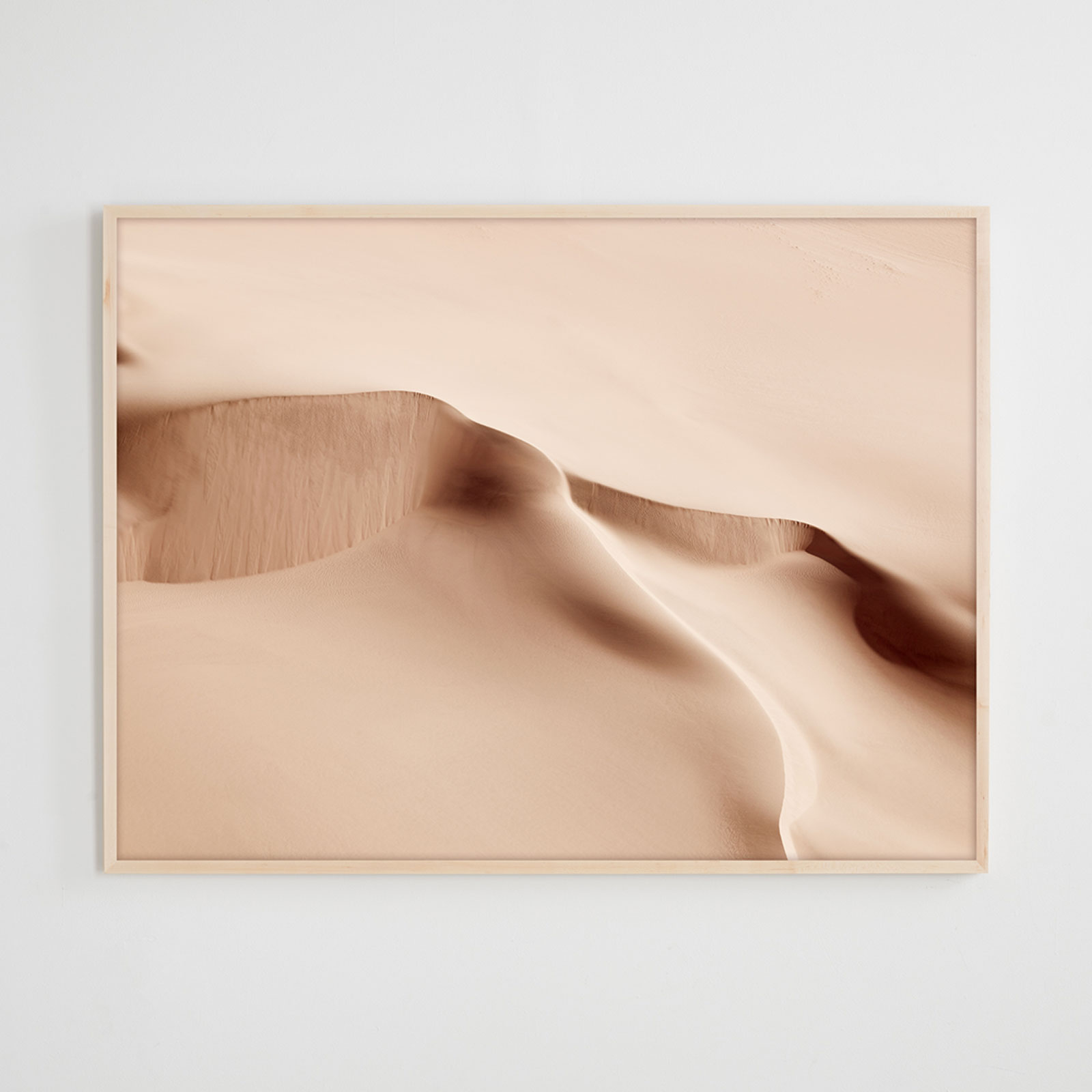 Brooke Holm Sand Sea V Framed Photograph Hero