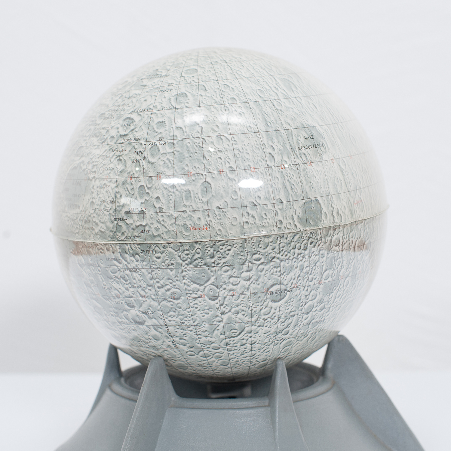 Moon Lamp With Stand, 1950s, The Netherlands 2