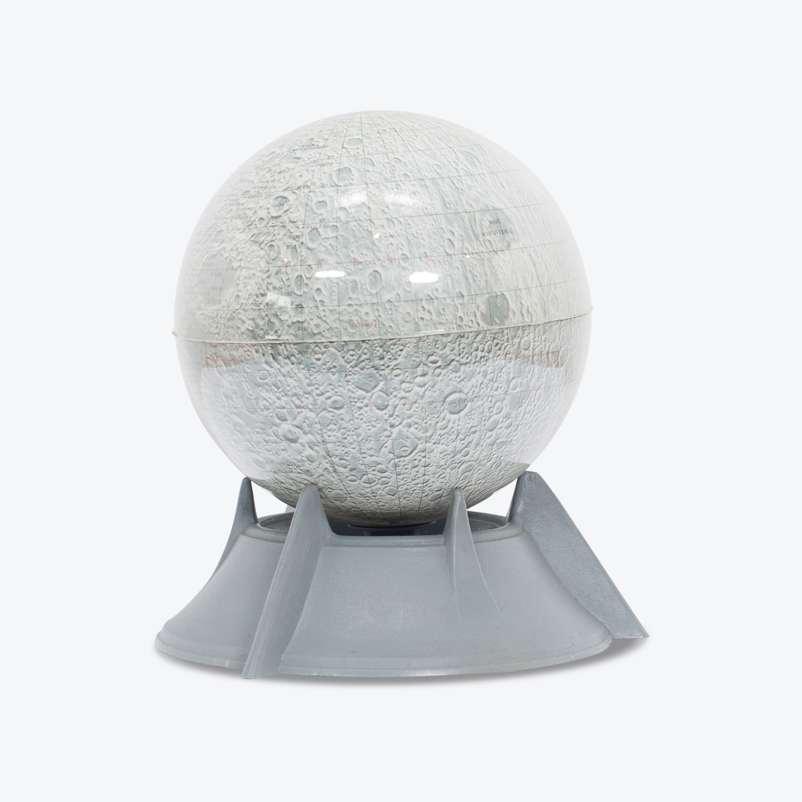 Moon Lamp With Stand, 1950s, The Netherlands Hero