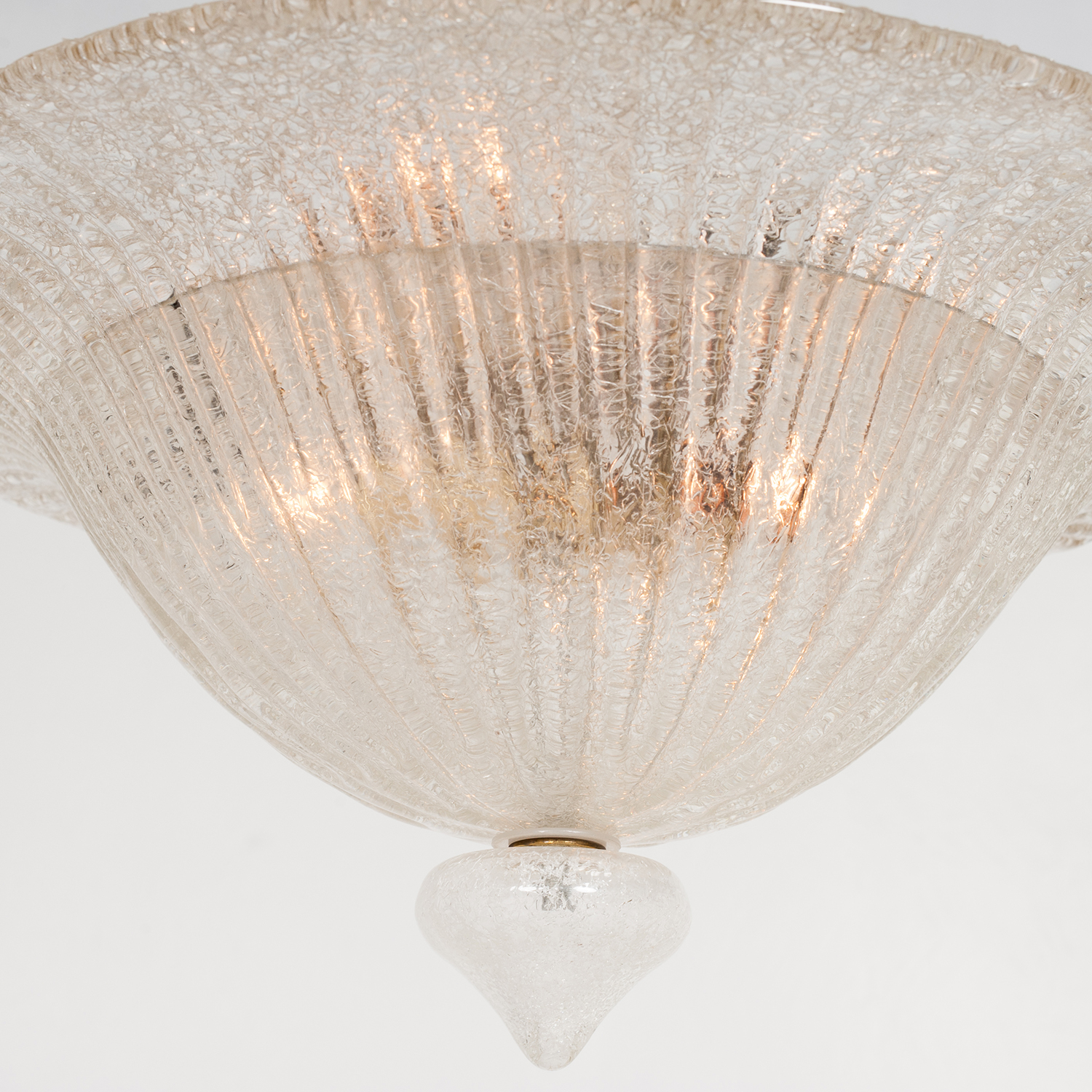 Murano Glass Pendant In The Style Of Barovier & Toso, 1950s, Italy 86