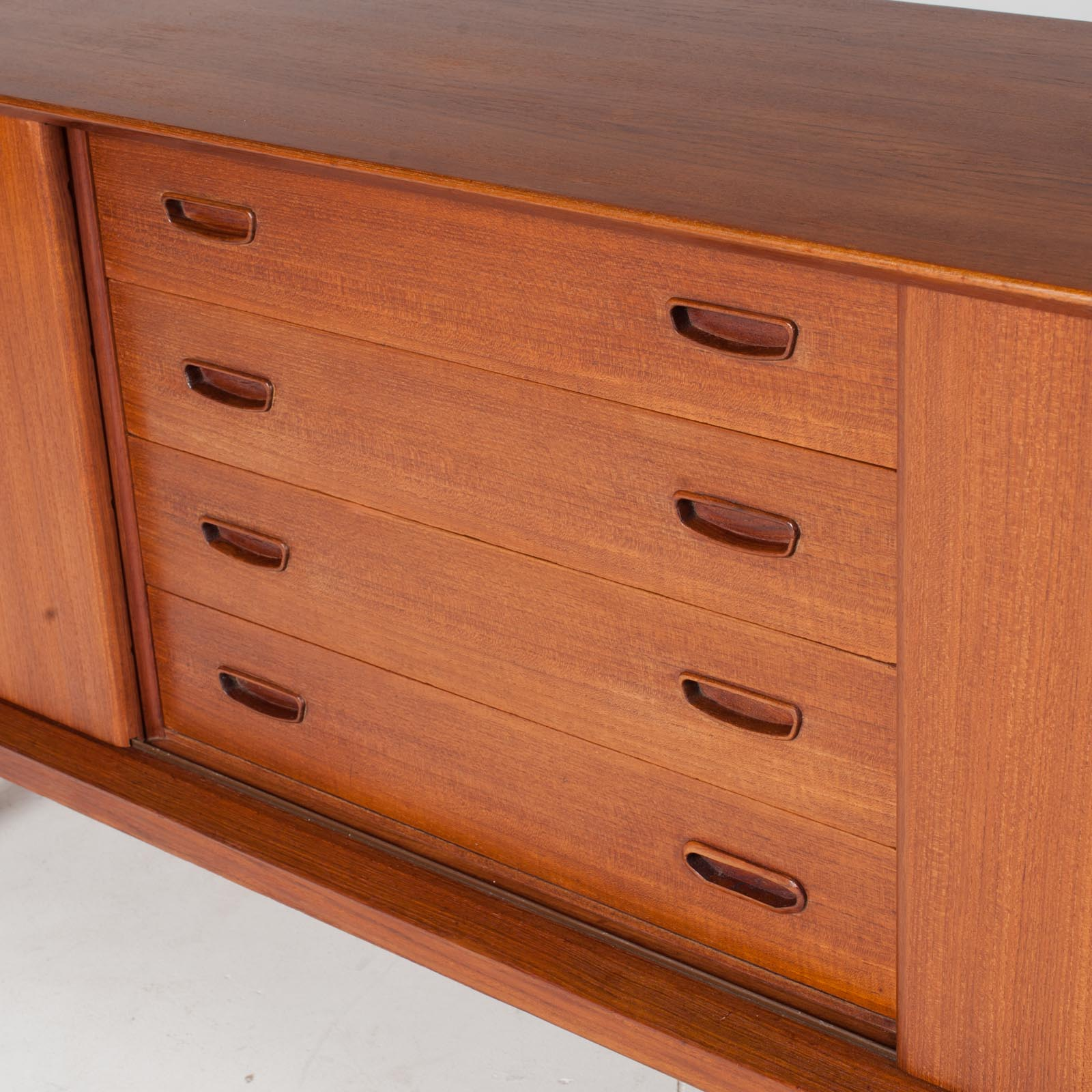 Sideboard By Clause And Son In Teak, 1960s, Denmark11