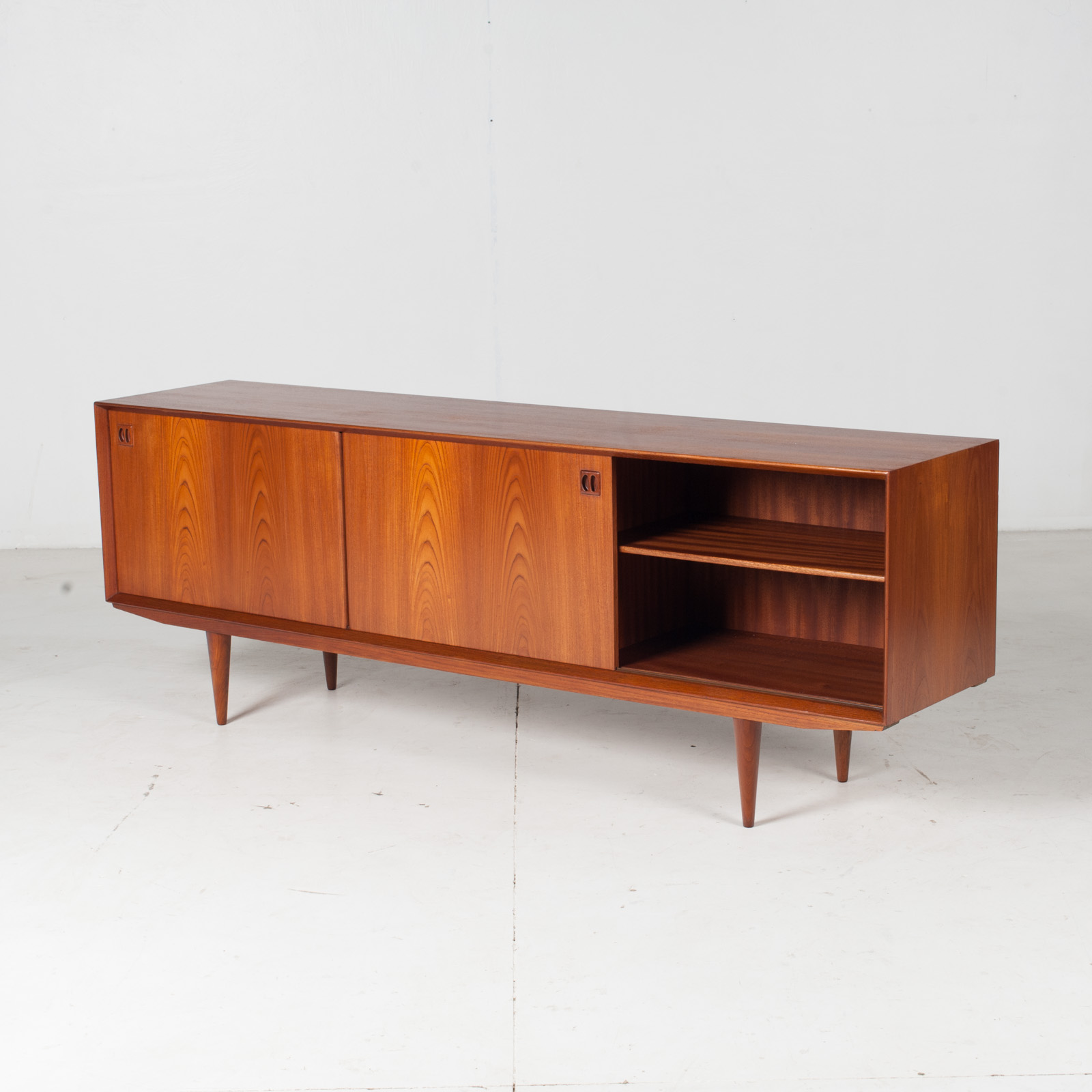 Sideboard By Clause And Son In Teak, 1960s, Denmark5