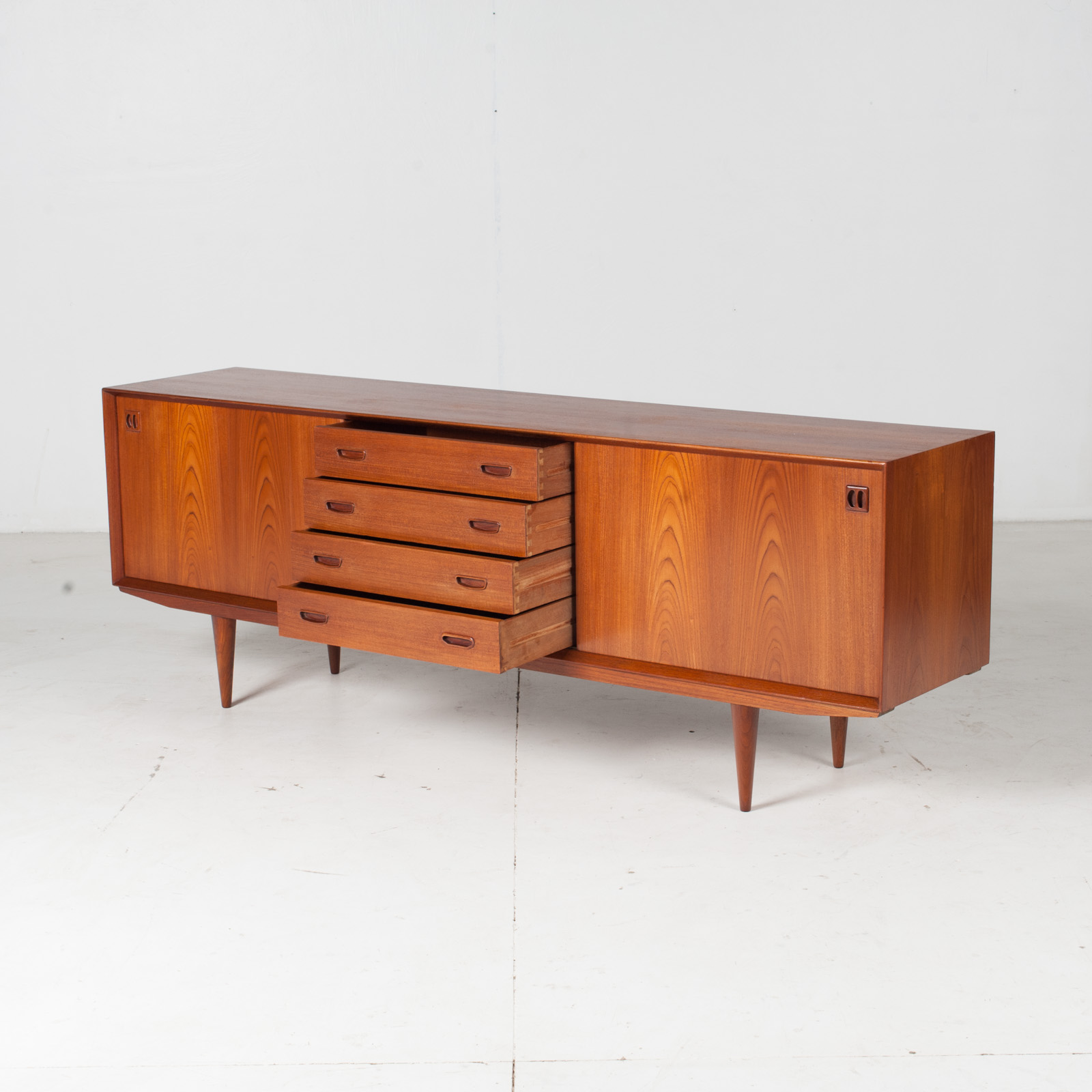 Sideboard By Clause And Son In Teak, 1960s, Denmark6