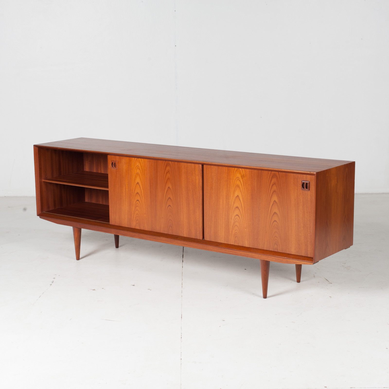 Sideboard By Clause And Son In Teak, 1960s, Denmark7