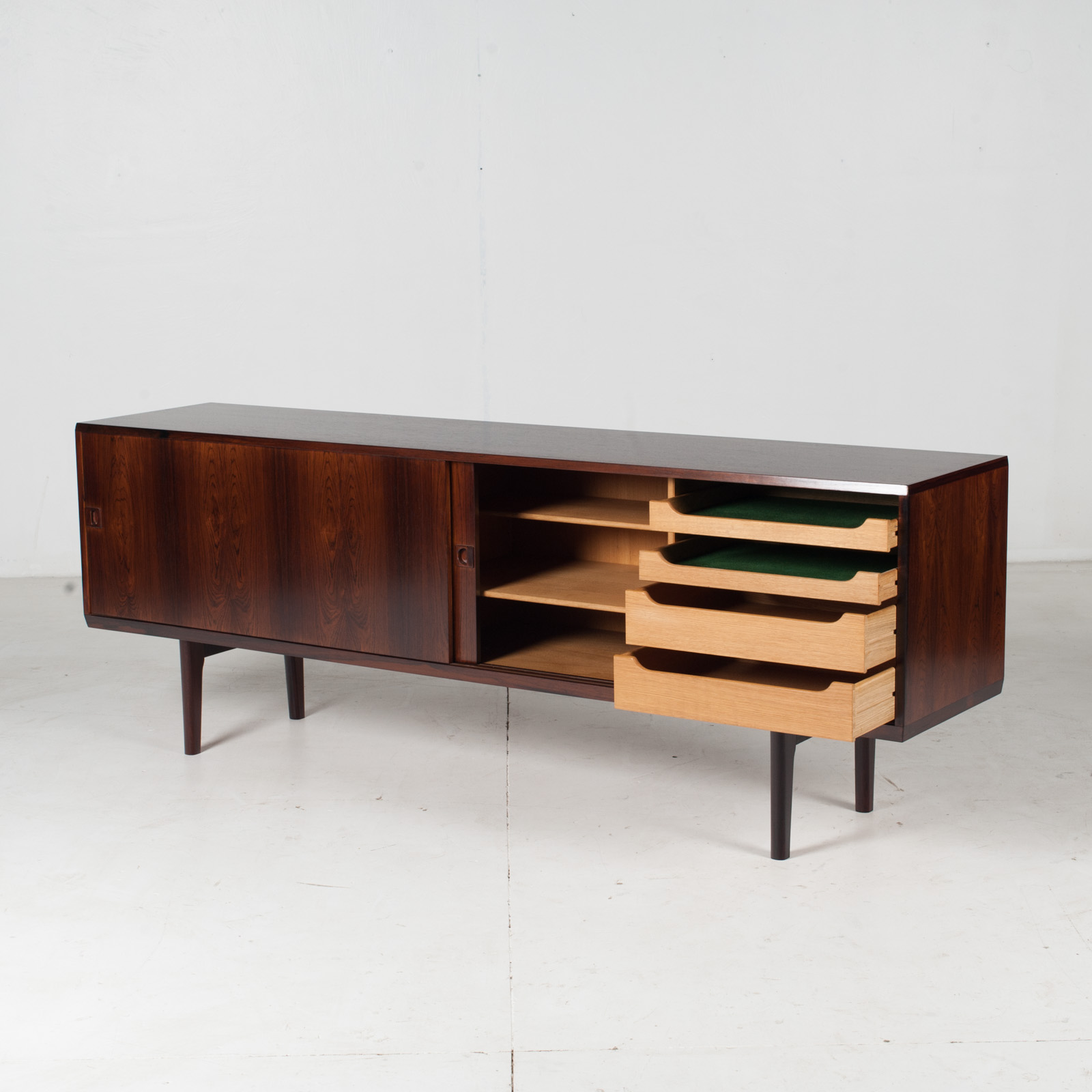 Sideboard In Rosewood With Oak Interior For Brouer Furniture, 1960s, Denmark5