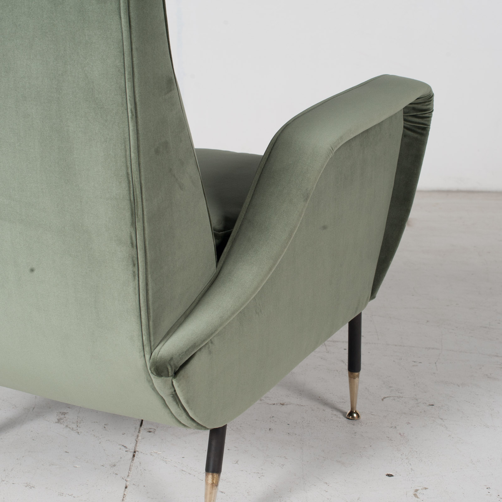 Armchair In The Style Of Gio Ponti In New Upholstery, Italy 11