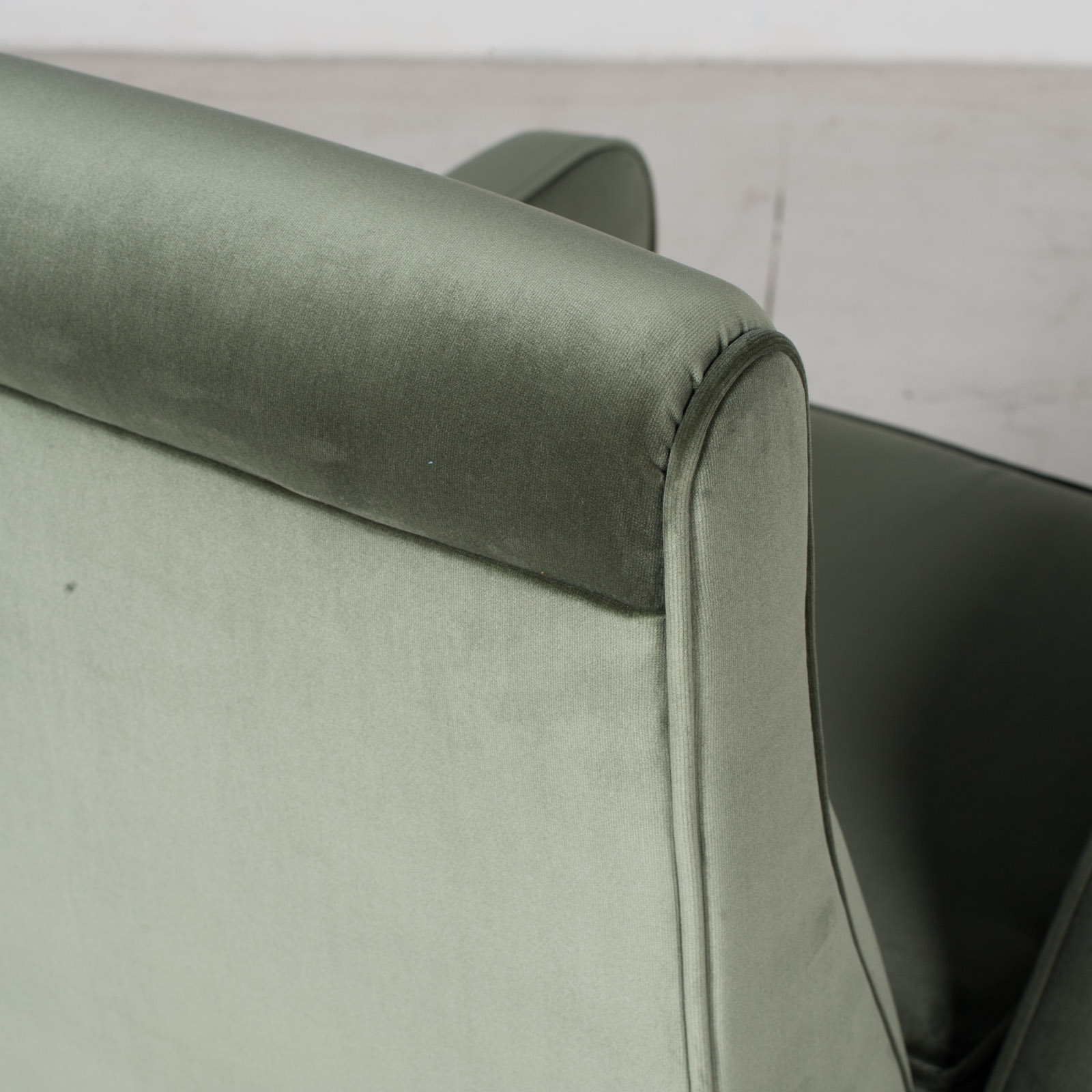 Armchair In The Style Of Gio Ponti In New Upholstery, Italy 12