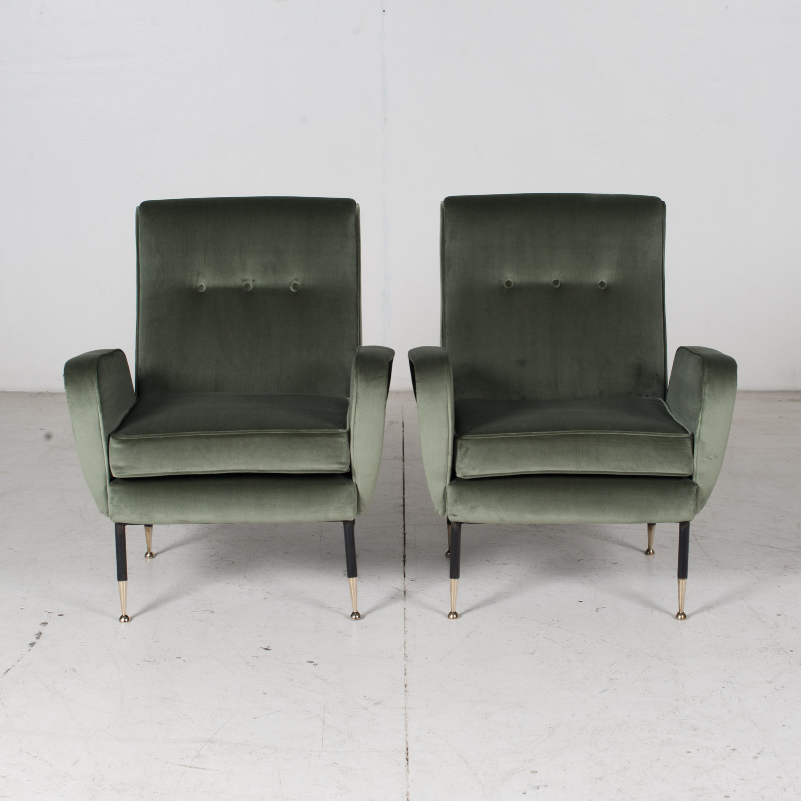 Armchair In The Style Of Gio Ponti In New Upholstery, Italy 13