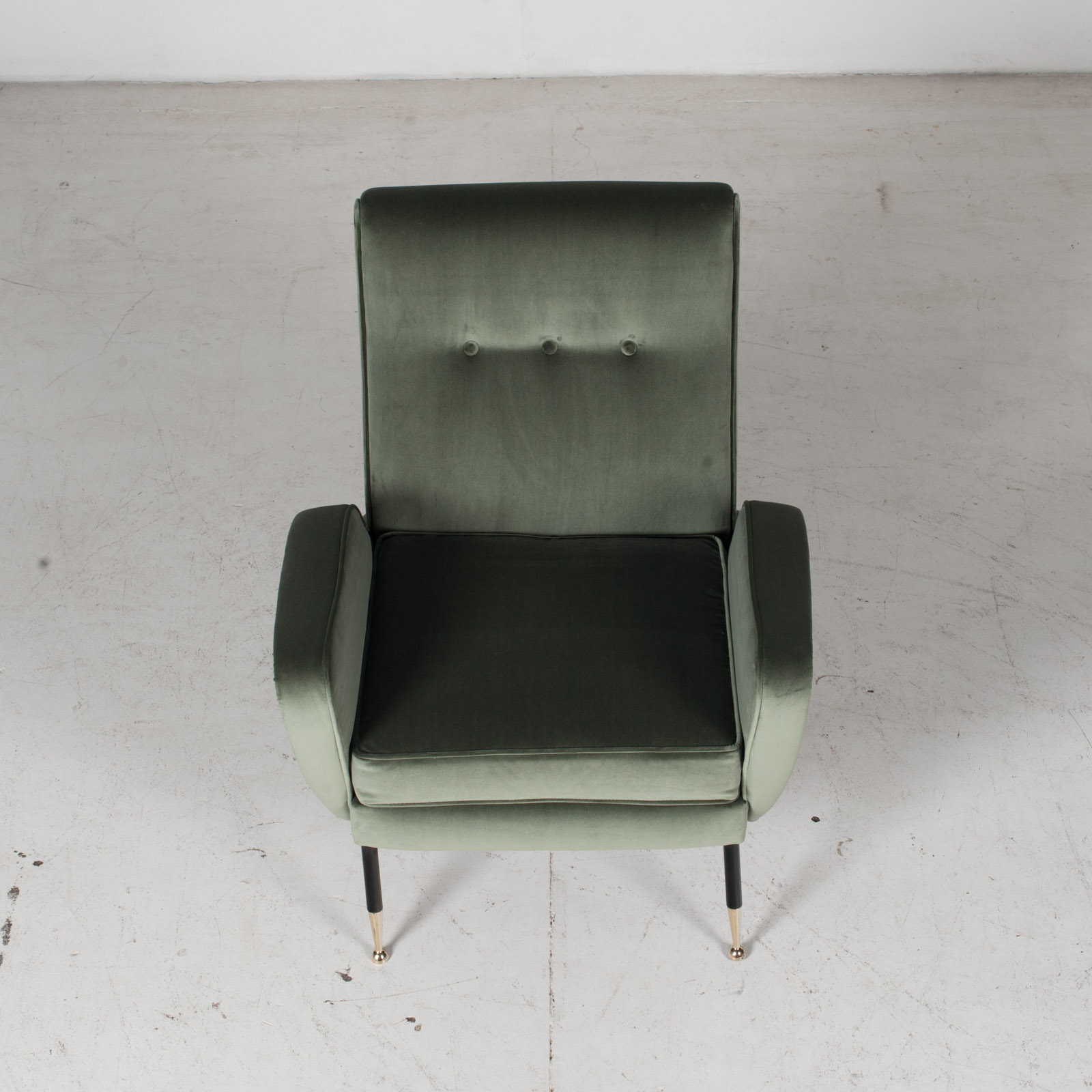 Armchair In The Style Of Gio Ponti In New Upholstery, Italy 3