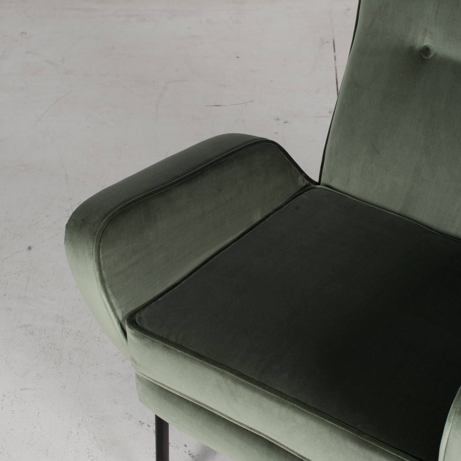 Armchair In The Style Of Gio Ponti In New Upholstery, Italy 5