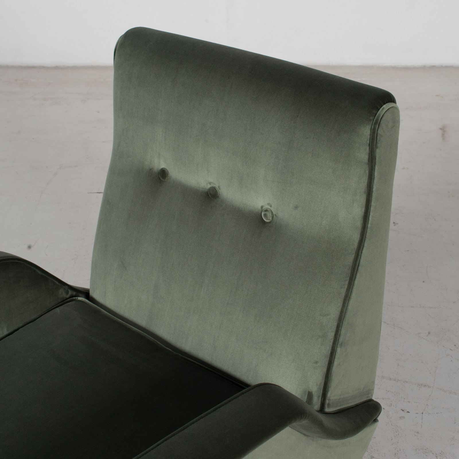 Armchair In The Style Of Gio Ponti In New Upholstery, Italy 6