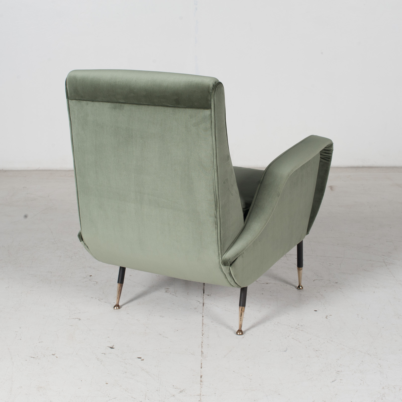 Armchair In The Style Of Gio Ponti In New Upholstery, Italy 9