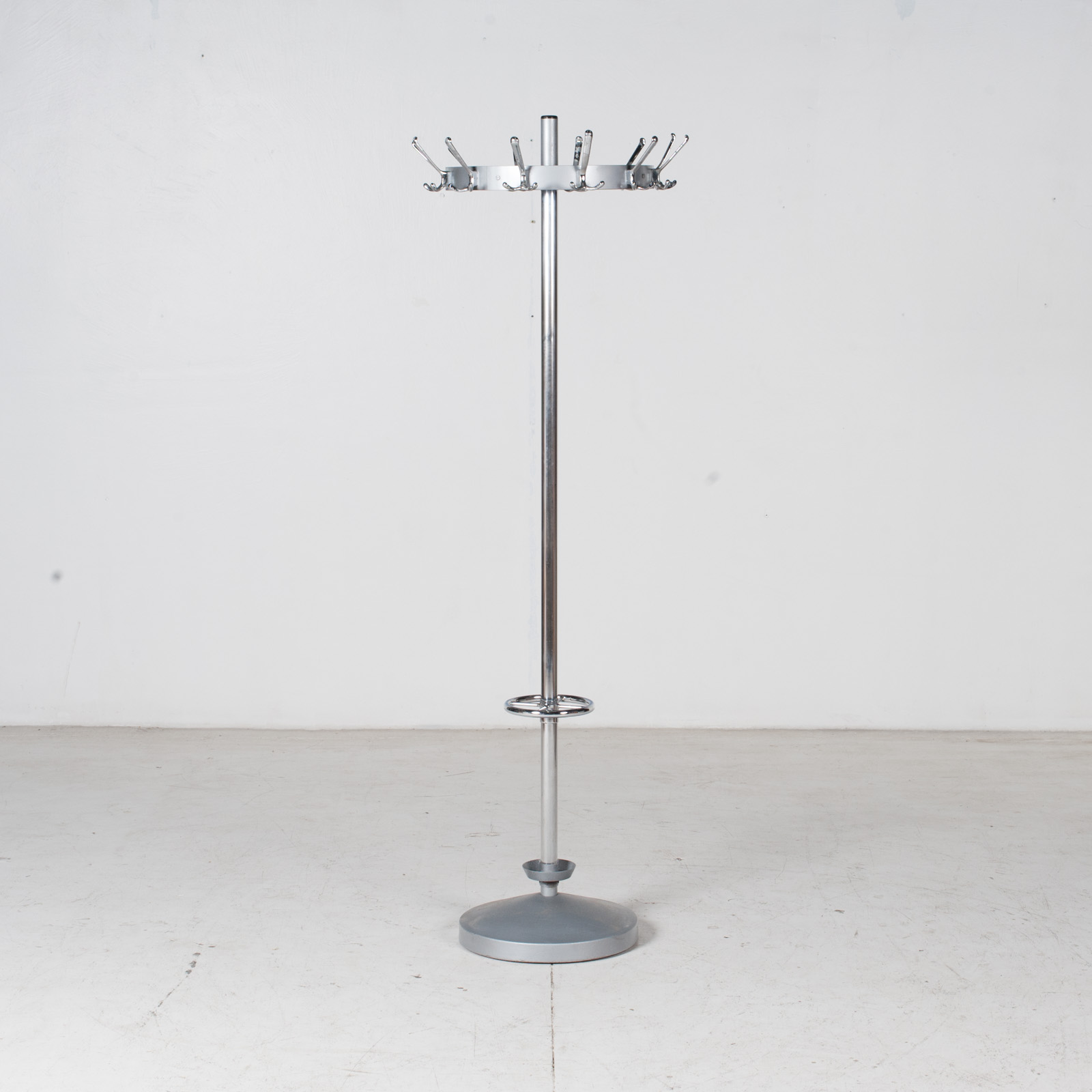 Industrial Coat Stand By Gispen In Chrome, 1950s, The Netherlands 1