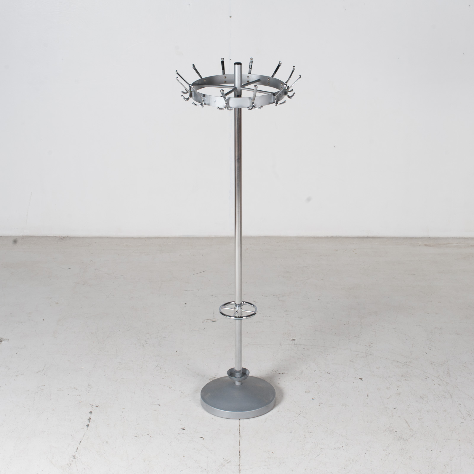 Industrial Coat Stand By Gispen In Chrome, 1950s, The Netherlands 2