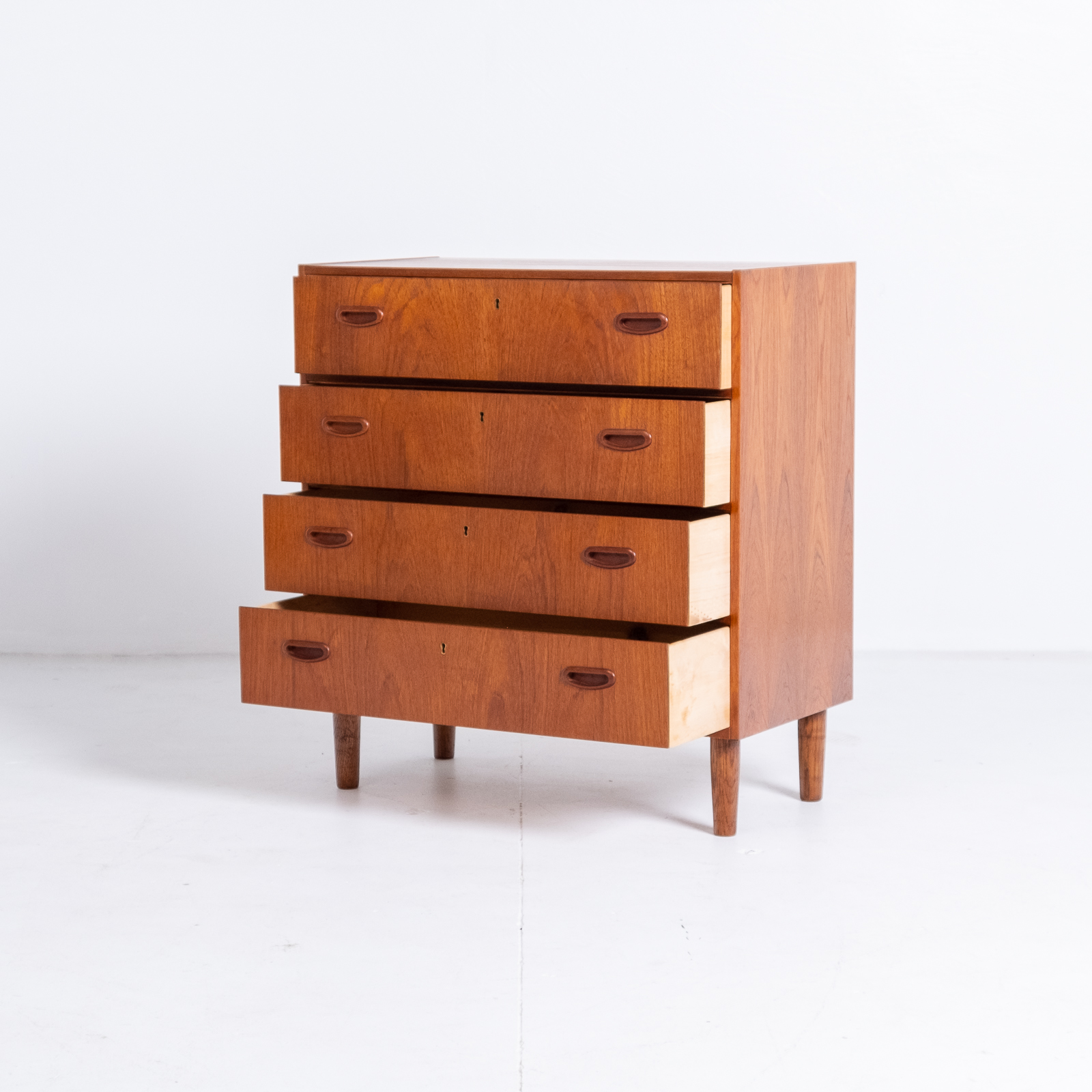 Chest Of Drawers In Teak, 1960s, Denmark2