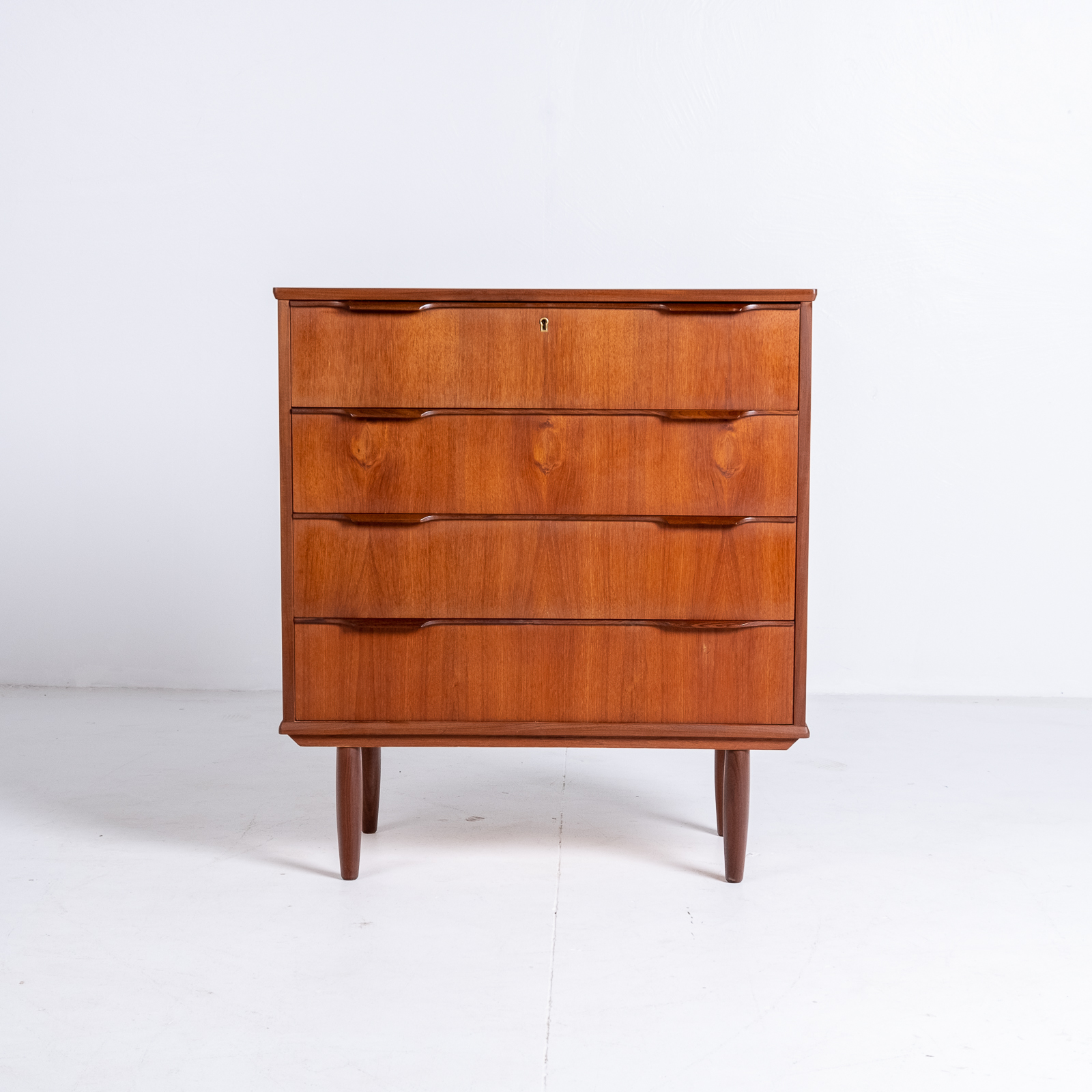 Chest Of Drawers In Teak, 1960s, Denmark3