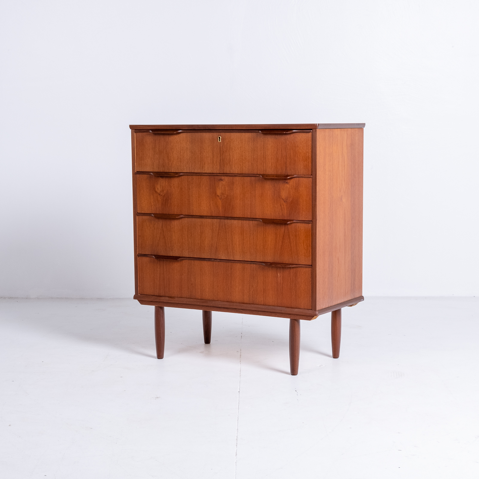 Chest Of Drawers In Teak, 1960s, Denmark4