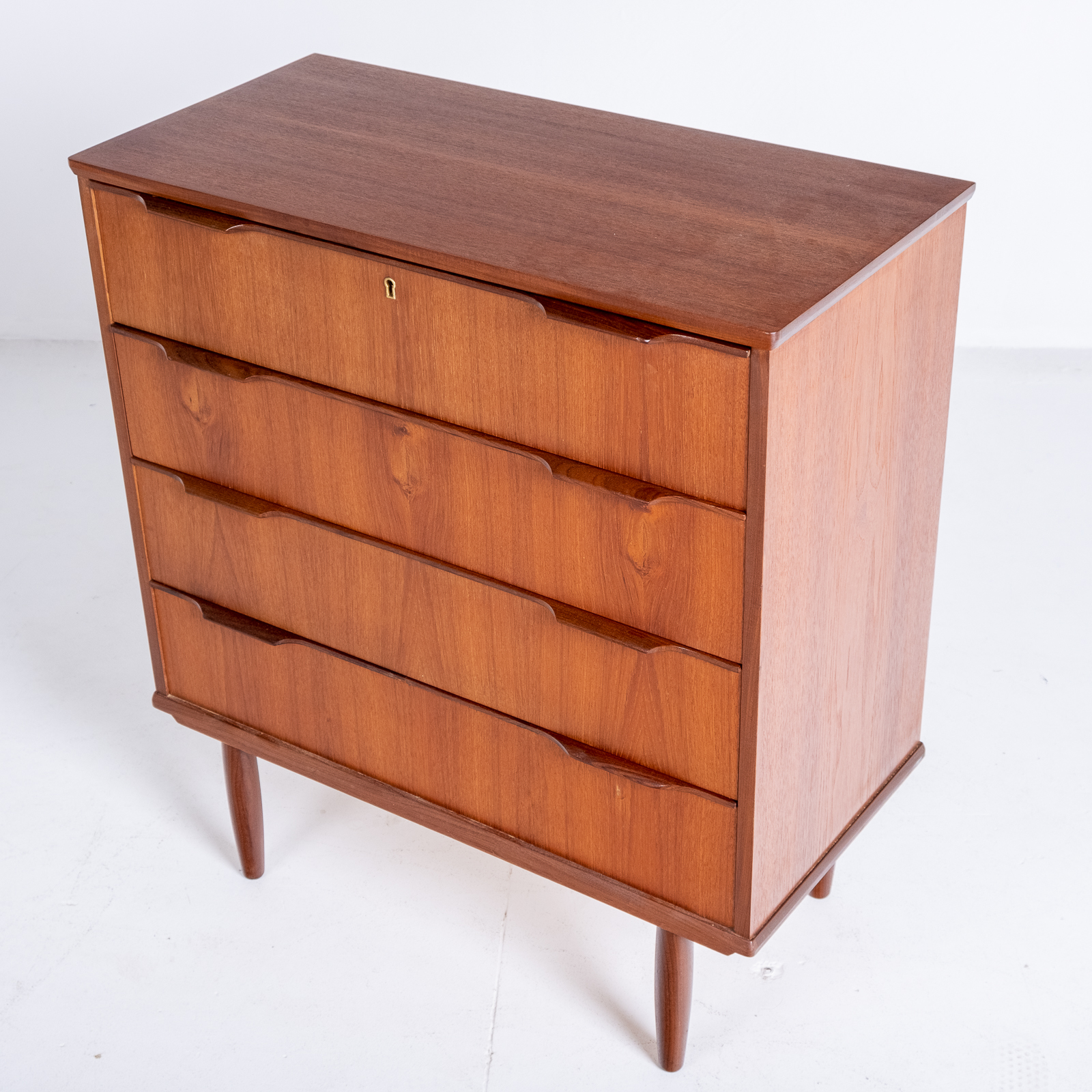 Chest Of Drawers In Teak, 1960s, Denmark5