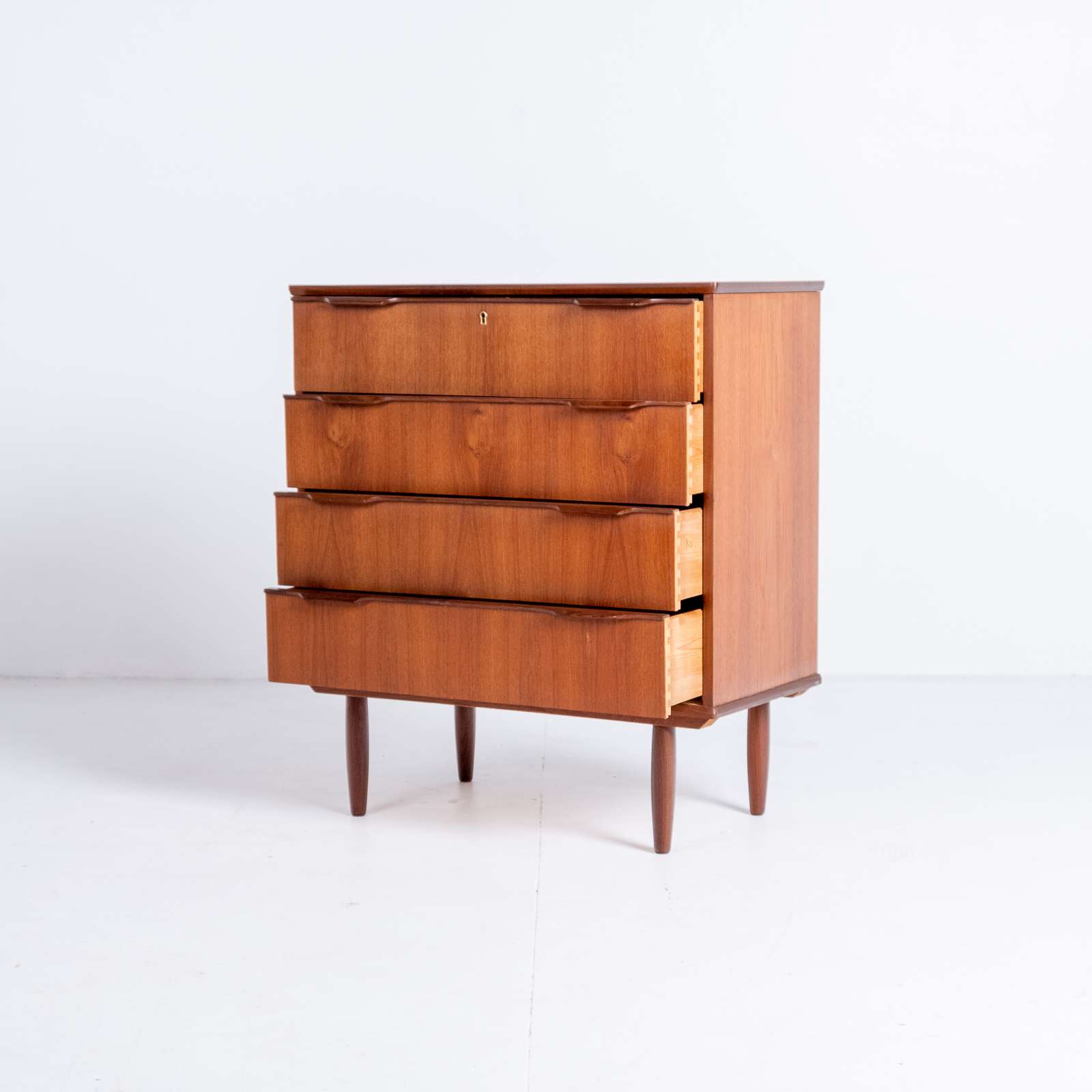 Chest Of Drawers In Teak, 1960s, Denmark6