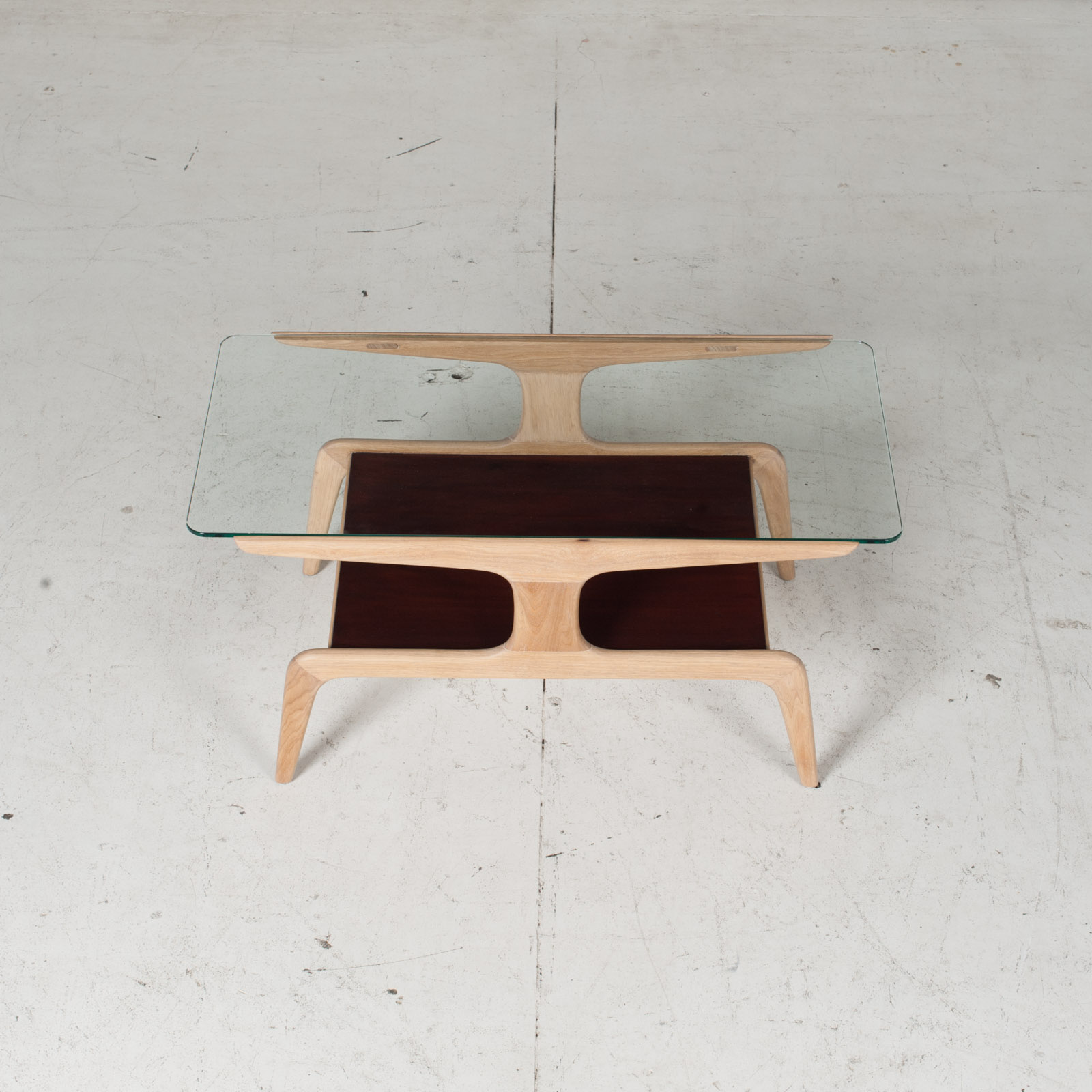 Coffee Table By Gio Ponti For Domus Nova, 1920s, Italy 3