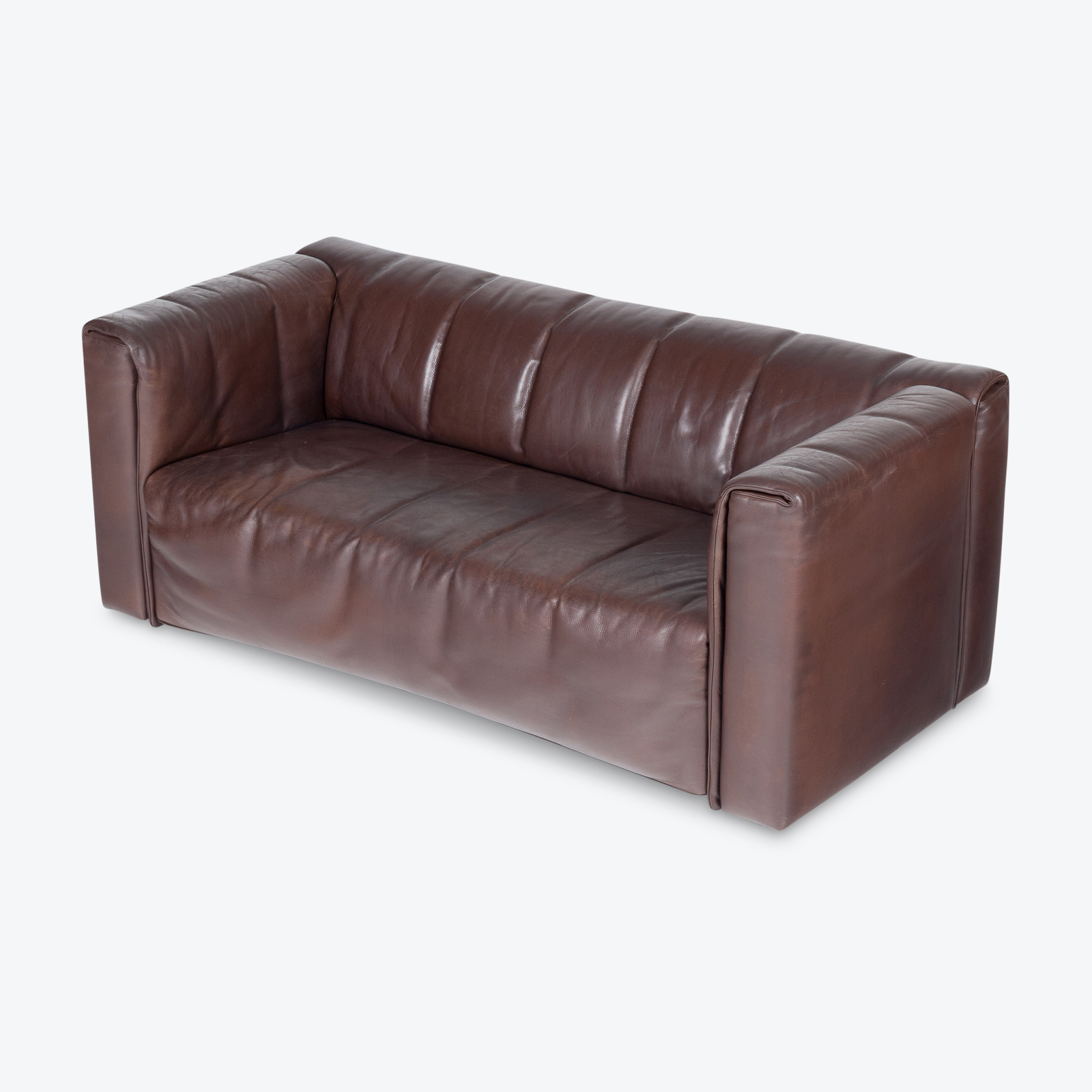 2.5 Seat Leather Sofa By Wittmann, Austria Hero