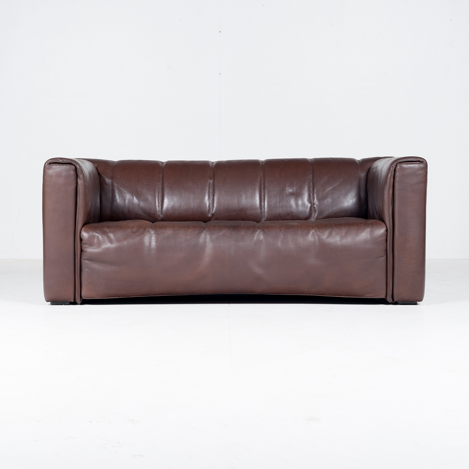 2.5 Seat Leather Sofa By Wittmann, Austria31