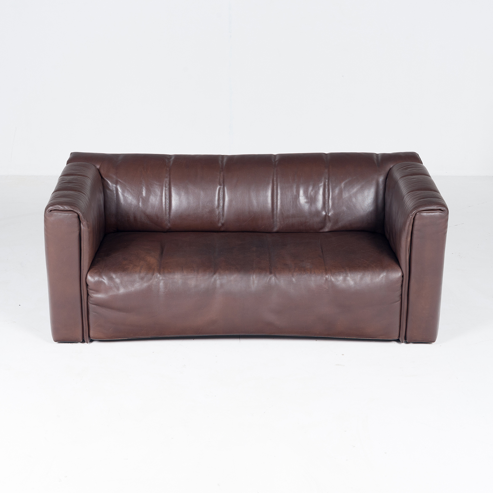 2.5 Seat Leather Sofa By Wittmann, Austria34